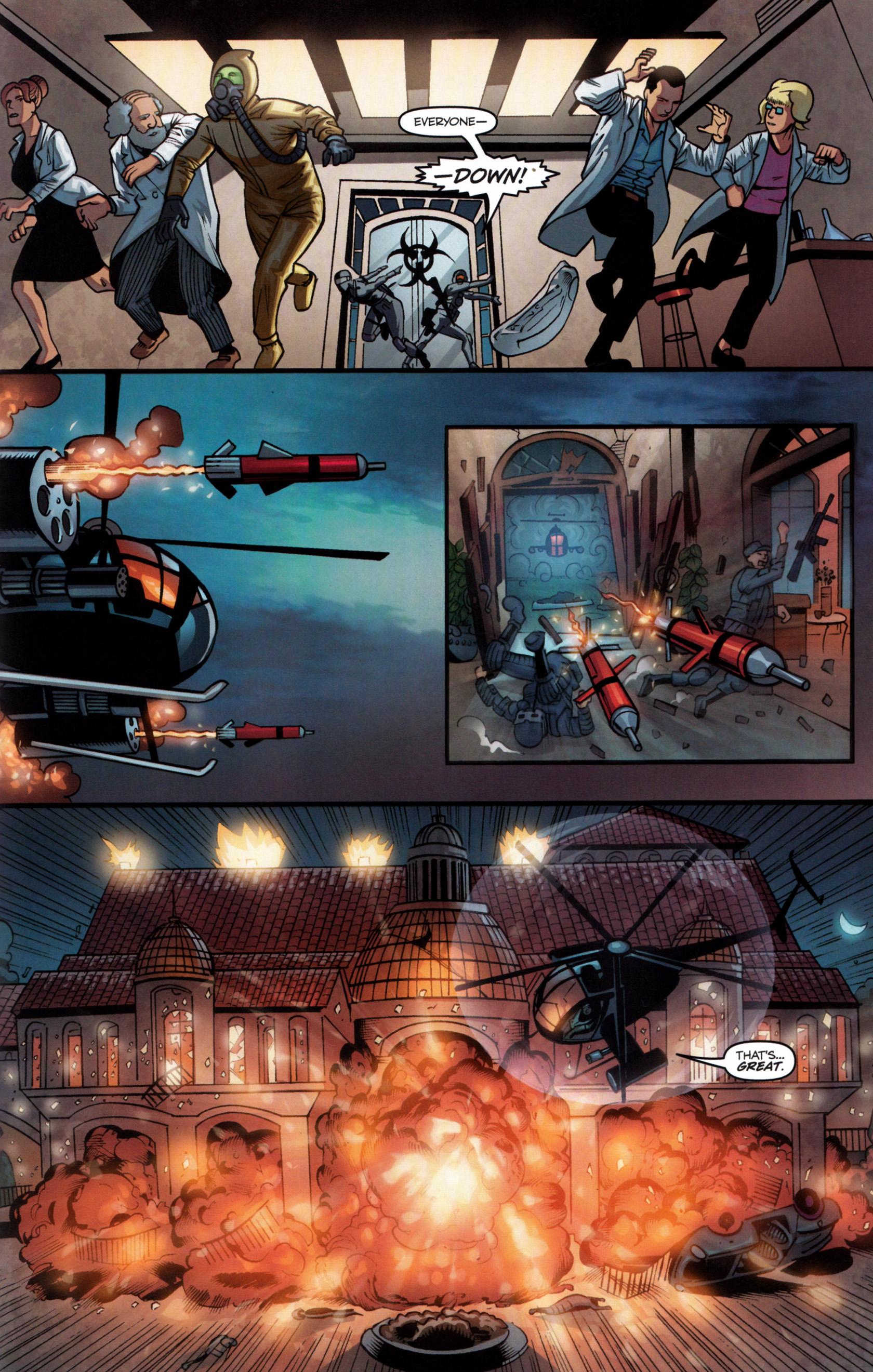 Read online G.I. Joe: Snake Eyes comic -  Issue #6 - 20