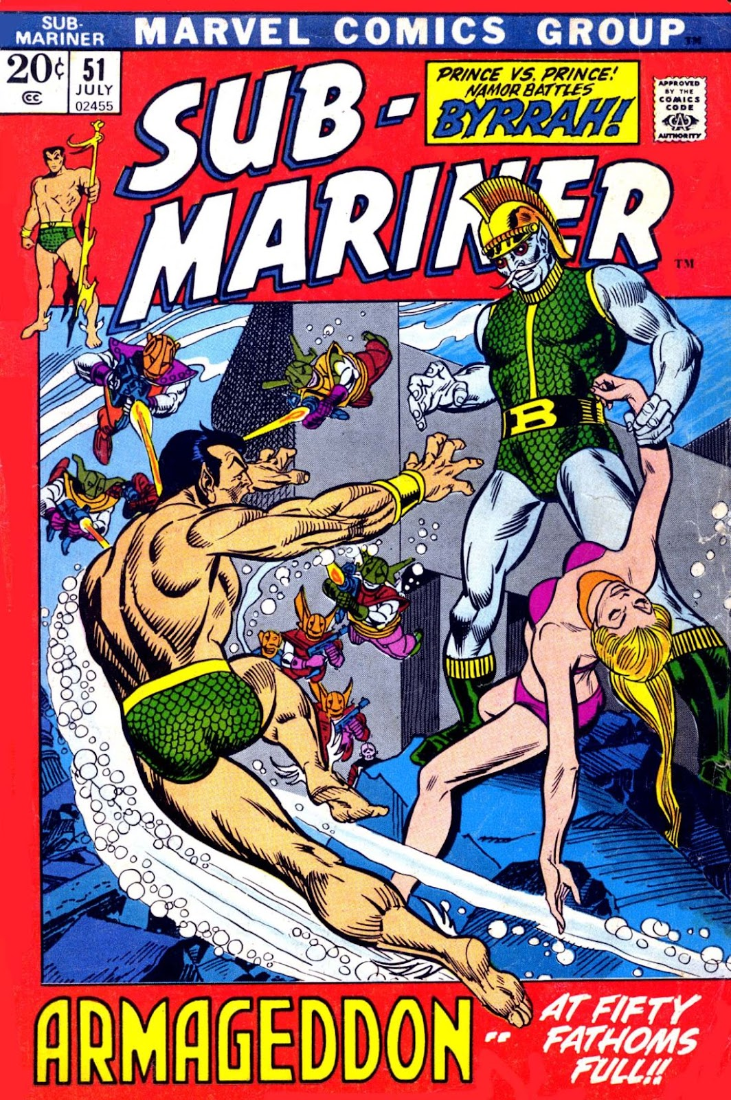 The Sub-Mariner 51 Page 1