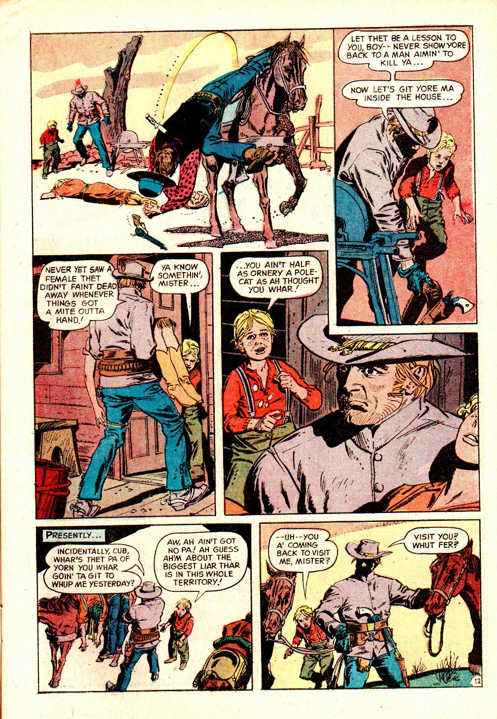 Read online All-Star Western (1970) comic -  Issue #10 - 15