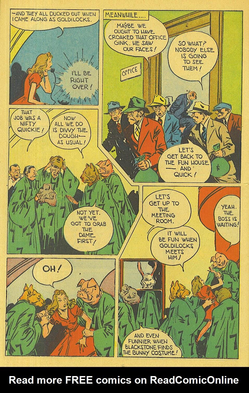 Read online Super-Magician Comics comic -  Issue #42 - 45