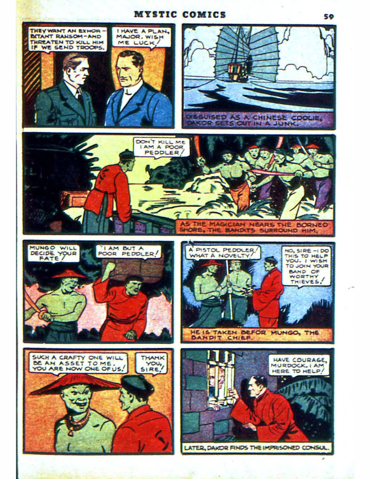Mystic Comics (1940) issue 2 - Page 61