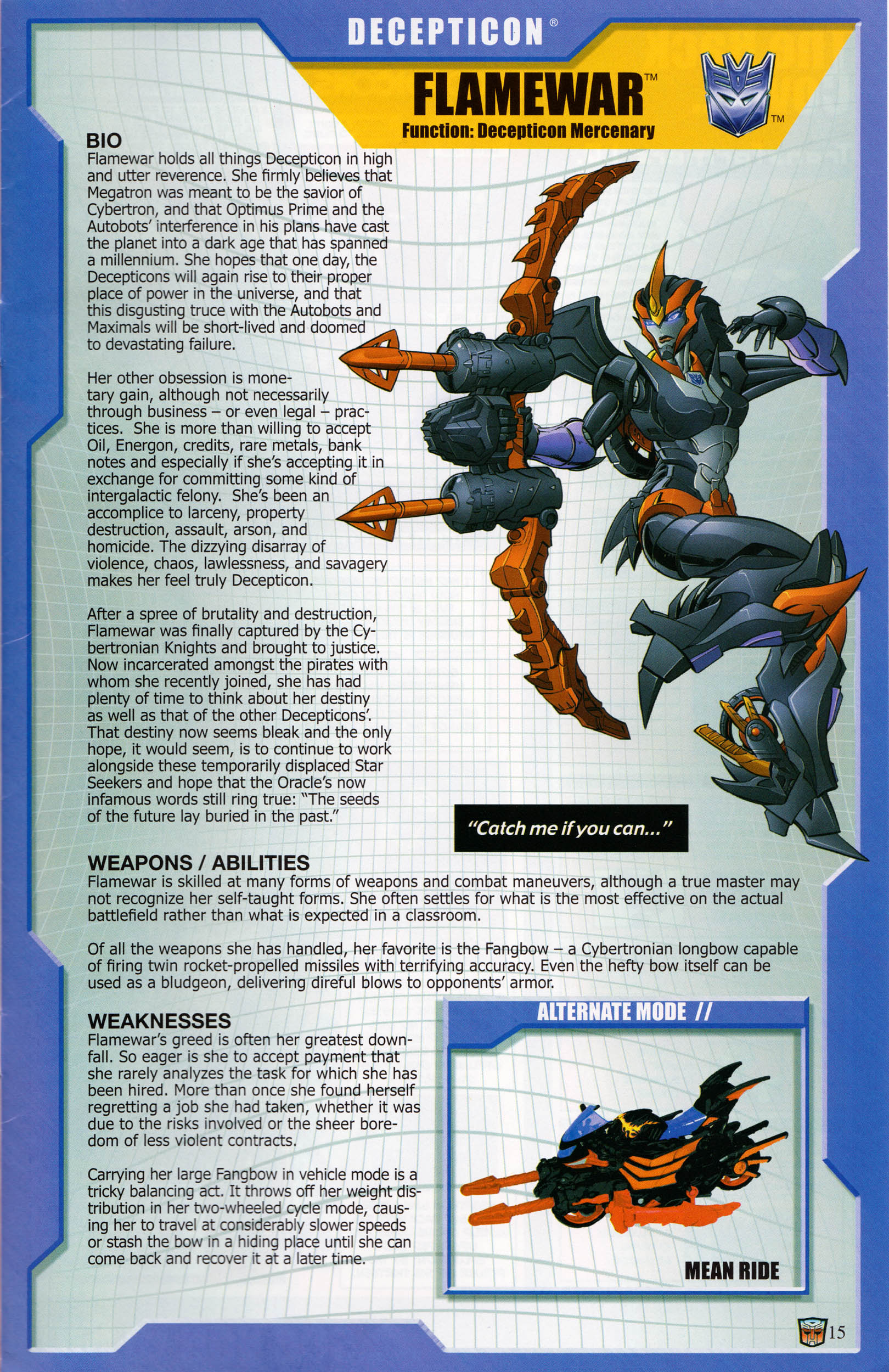 Read online Transformers: Collectors' Club comic -  Issue #58 - 15