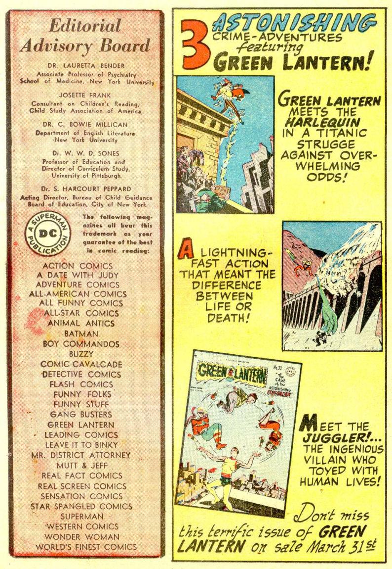 Read online Sensation (Mystery) Comics comic -  Issue #77 - 32