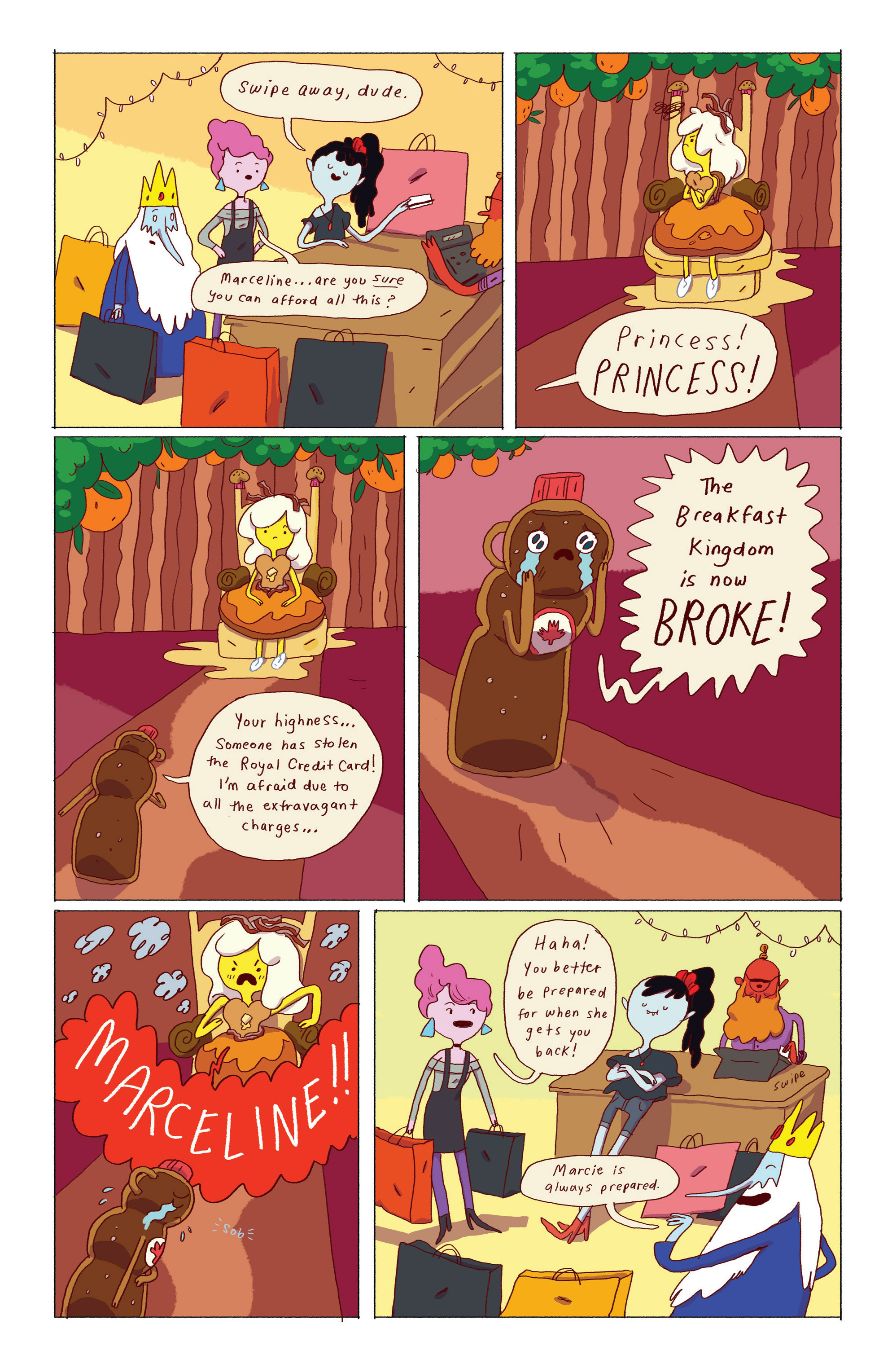 Read online Adventure Time: Ice King comic -  Issue #2 - 19