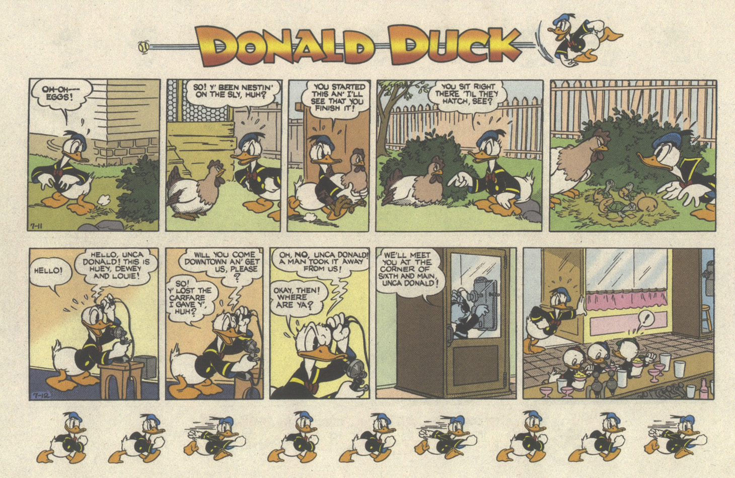Walt Disney's Donald Duck (1986) issue 298 - Page 28