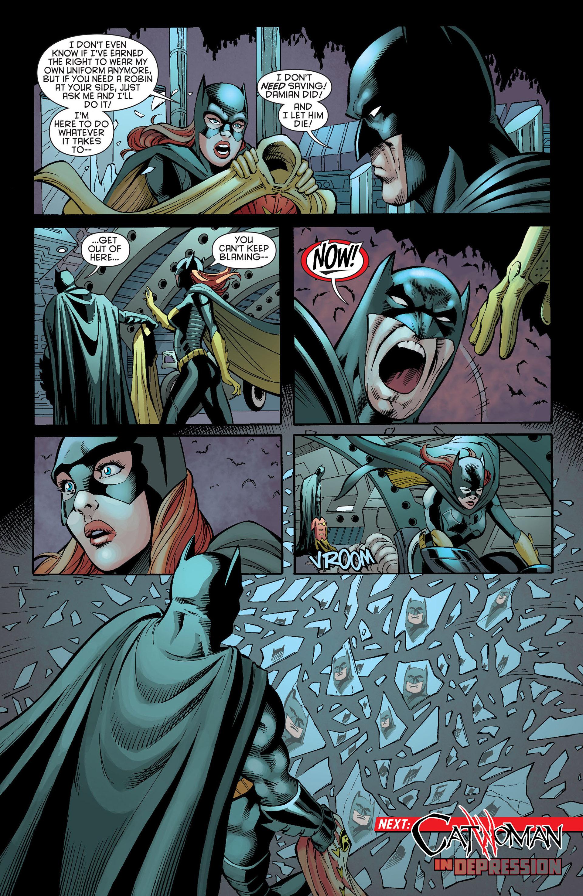 Read online Batman and Robin (2011) comic -  Issue #21 - Batman and Batgirl - 20