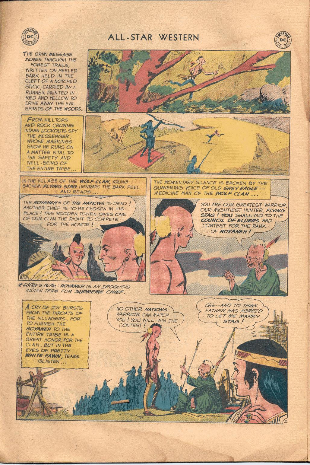 Read online All-Star Western (1951) comic -  Issue #117 - 21