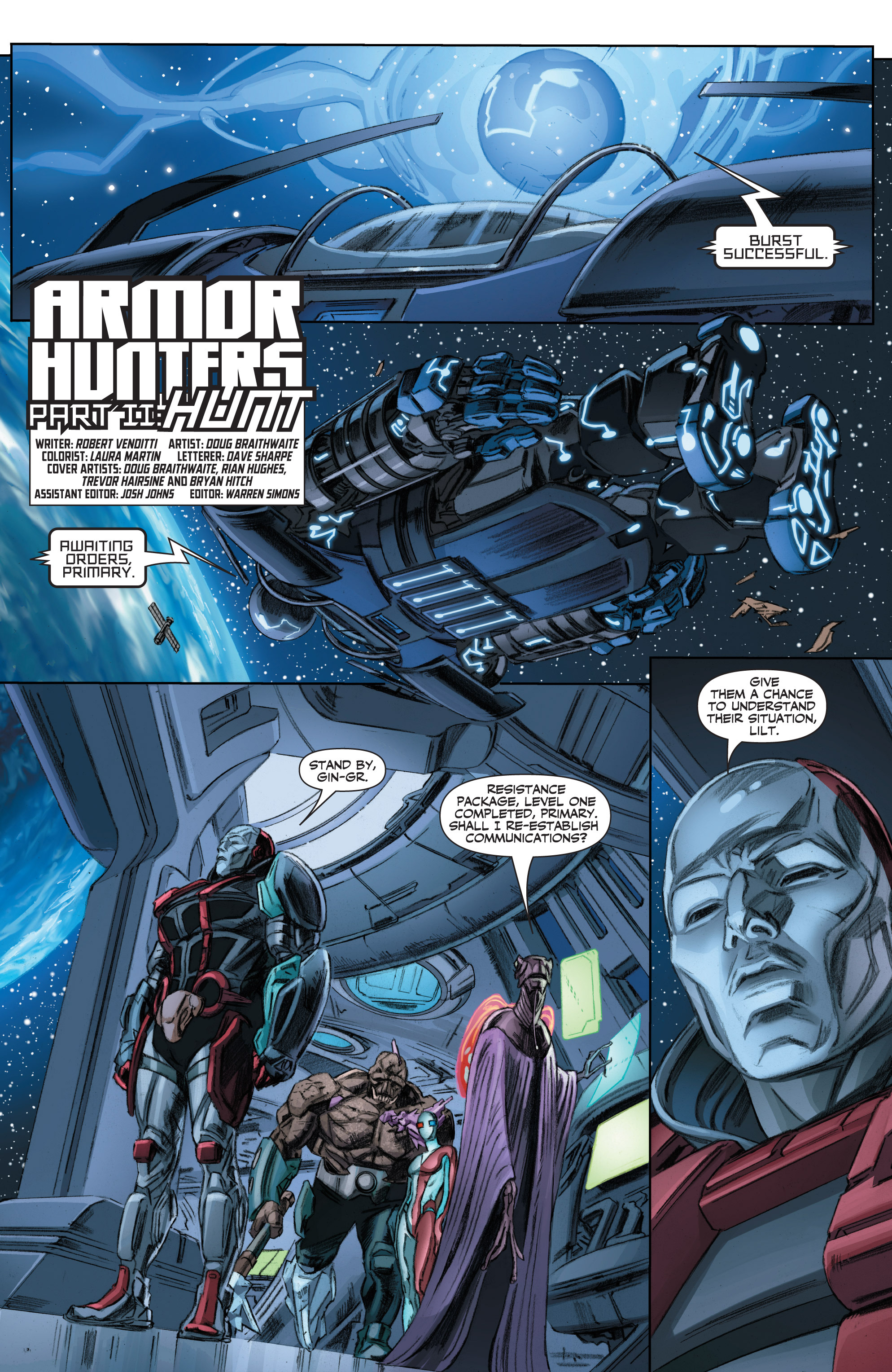 Read online Armor Hunters comic -  Issue #2 - 4
