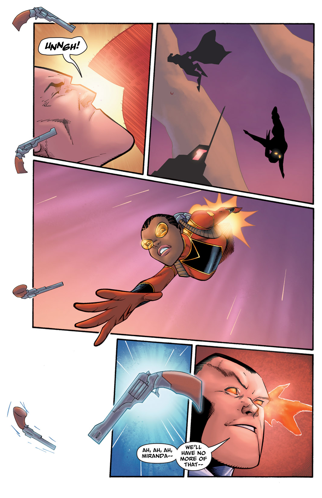 Read online The Many Adventures of Miranda Mercury: Time Runs Out comic -  Issue # TPB - 108