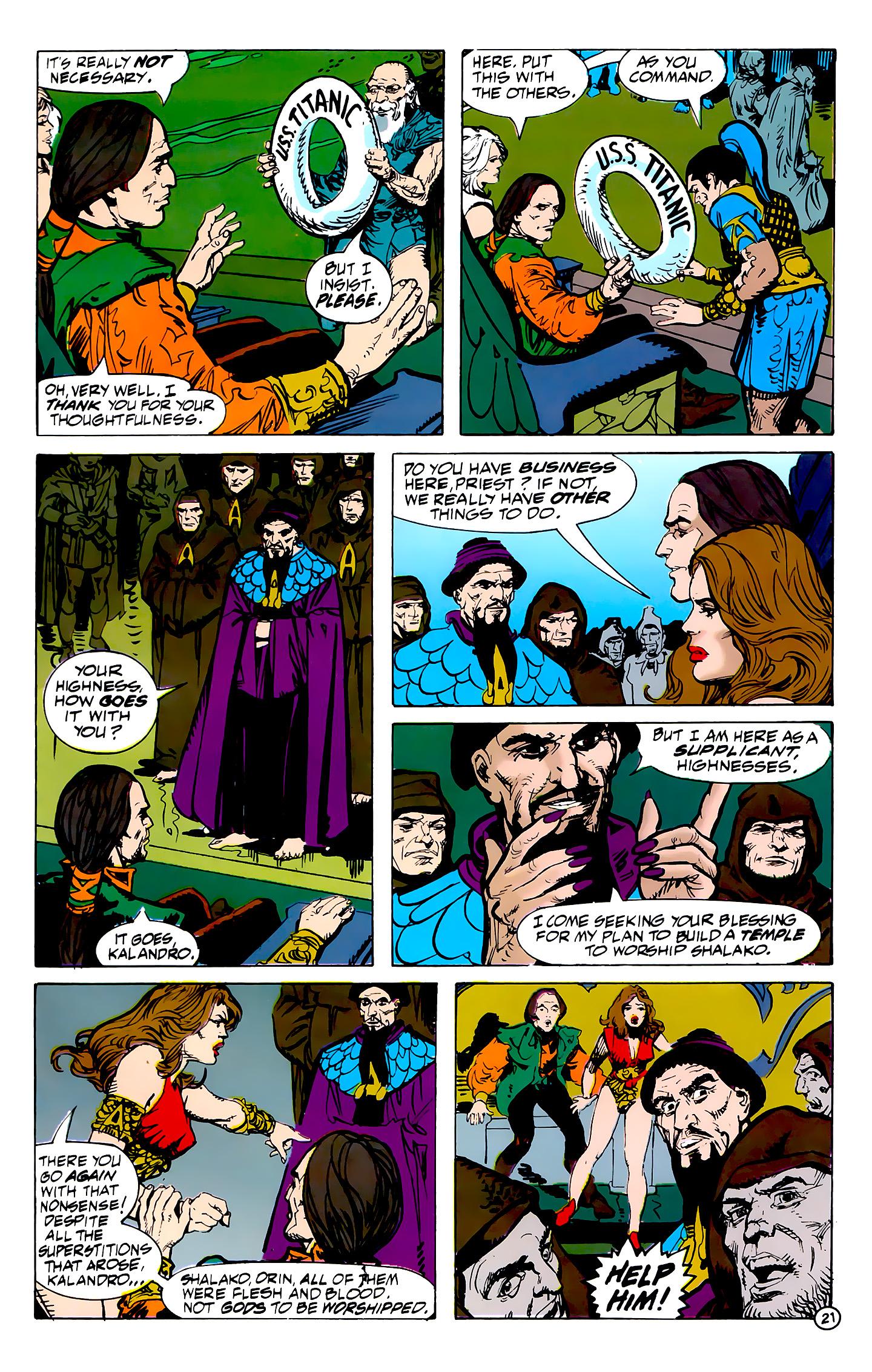 Read online Atlantis Chronicles comic -  Issue #7 - 22