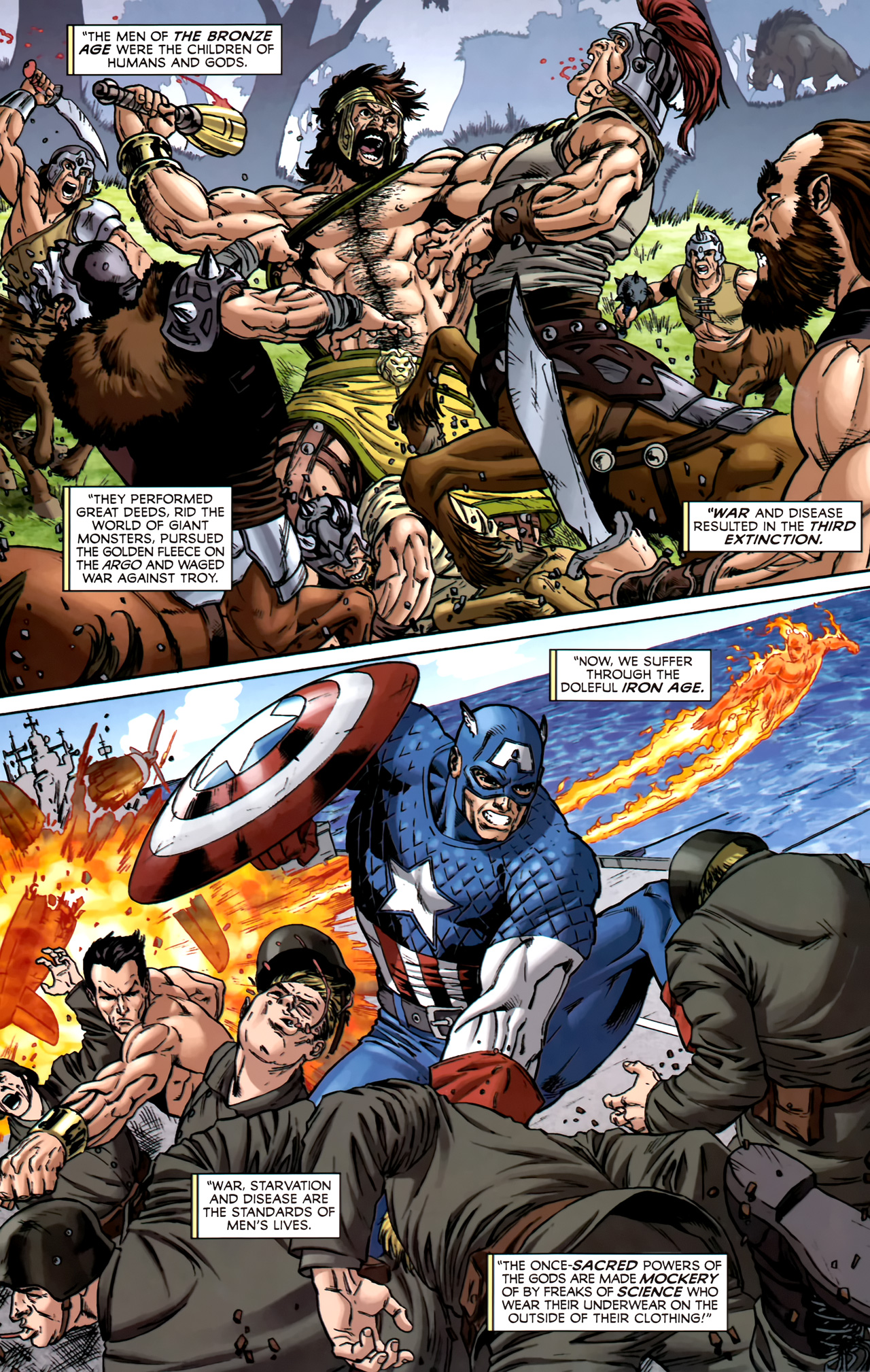 Read online Assault on New Olympus Prologue comic -  Issue #Assault on New Olympus Prologue Full - 30