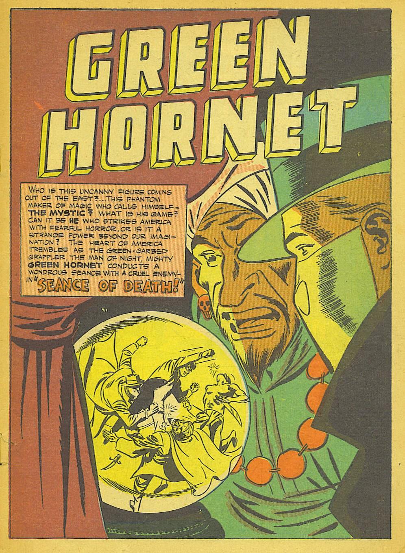 Green Hornet Comics 26 Page 2