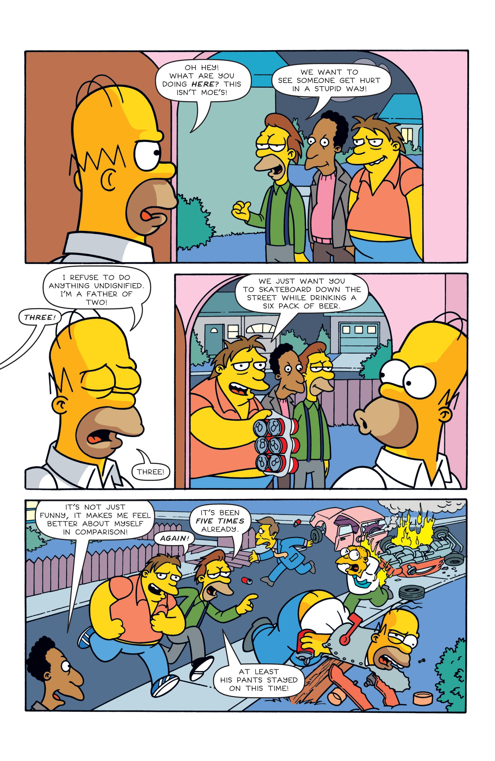 Read online Simpsons Comics comic -  Issue #187 - 16