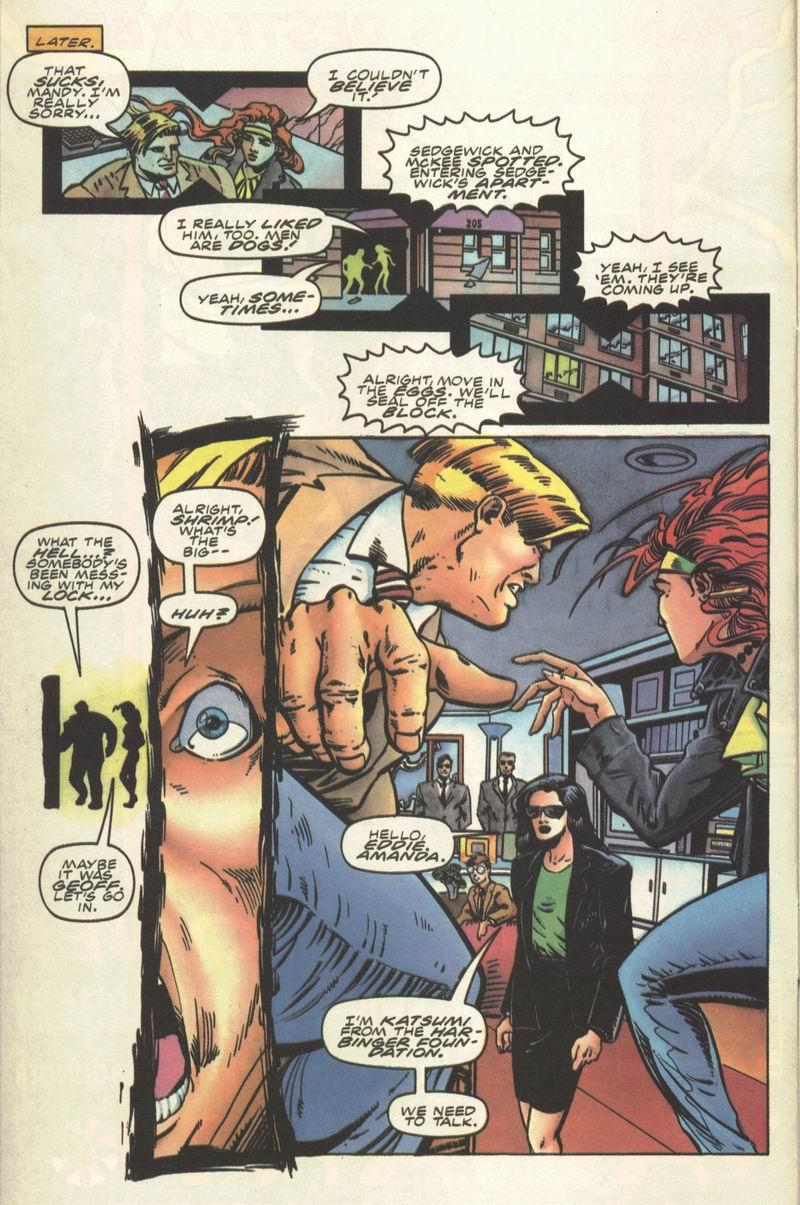 Read online Secret Weapons comic -  Issue #8 - 9