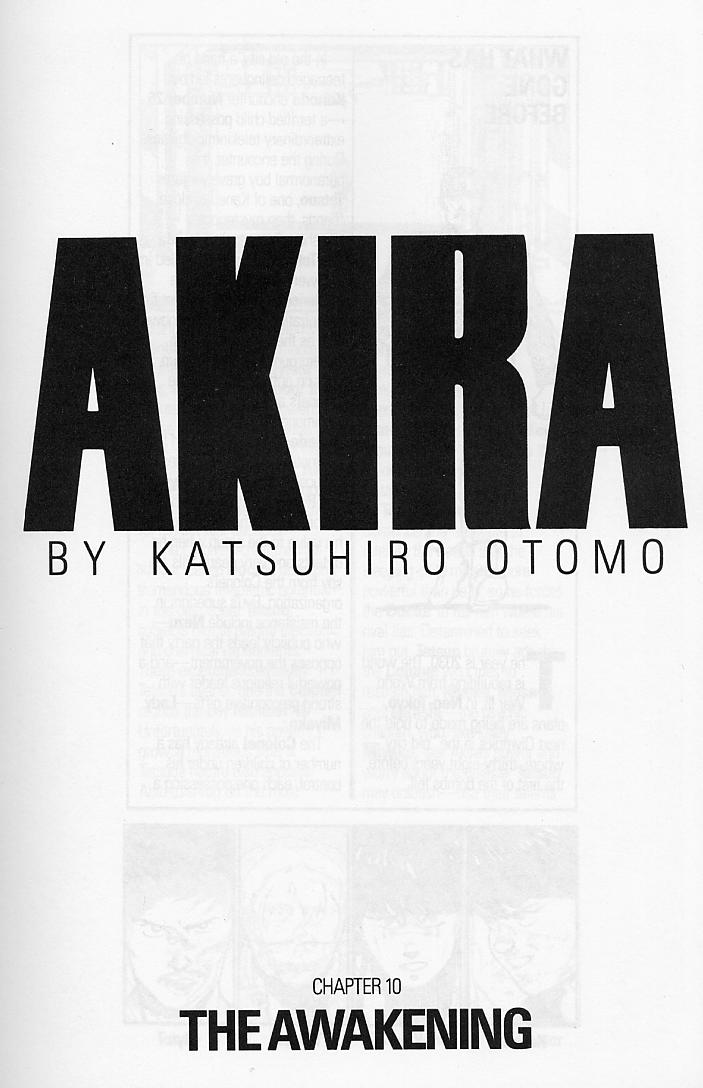Read online Akira comic -  Issue #10 - 3