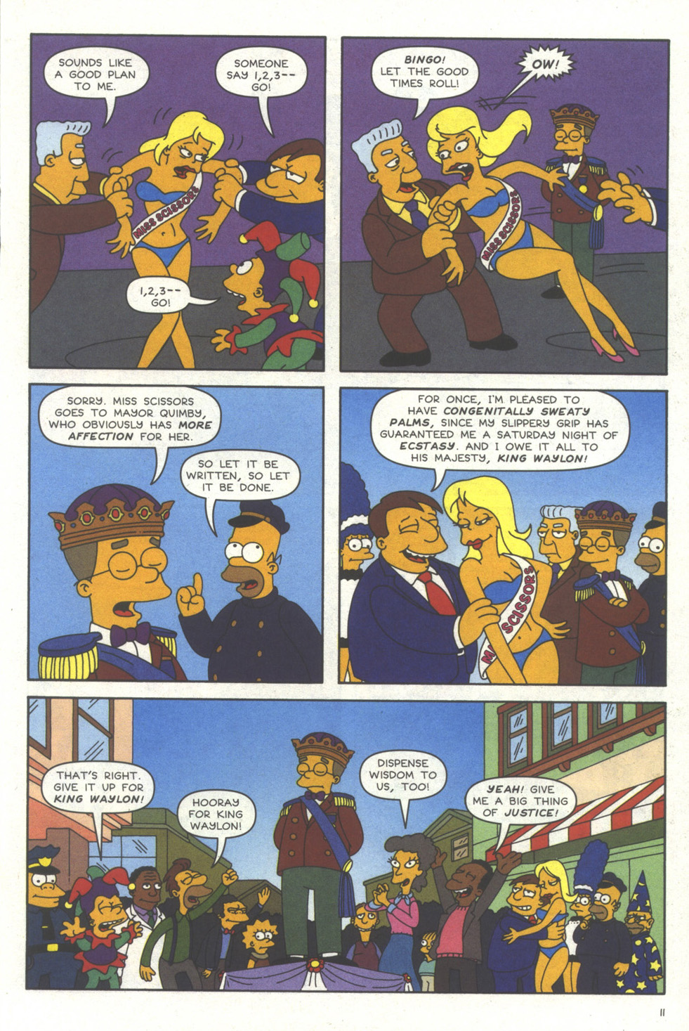 Read online Simpsons Comics comic -  Issue #56 - 12