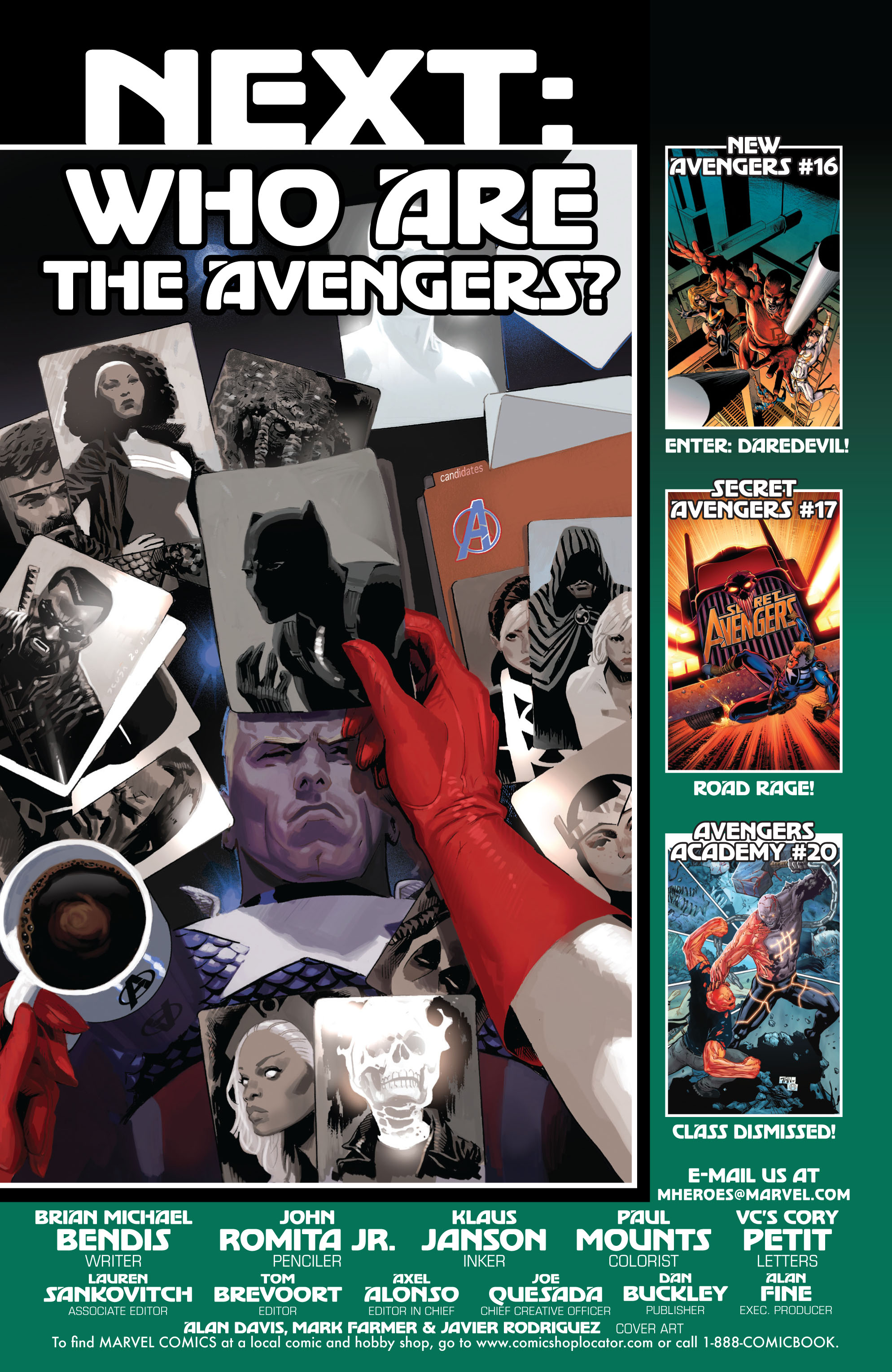 Read online Avengers (2010) comic -  Issue #17 - 21