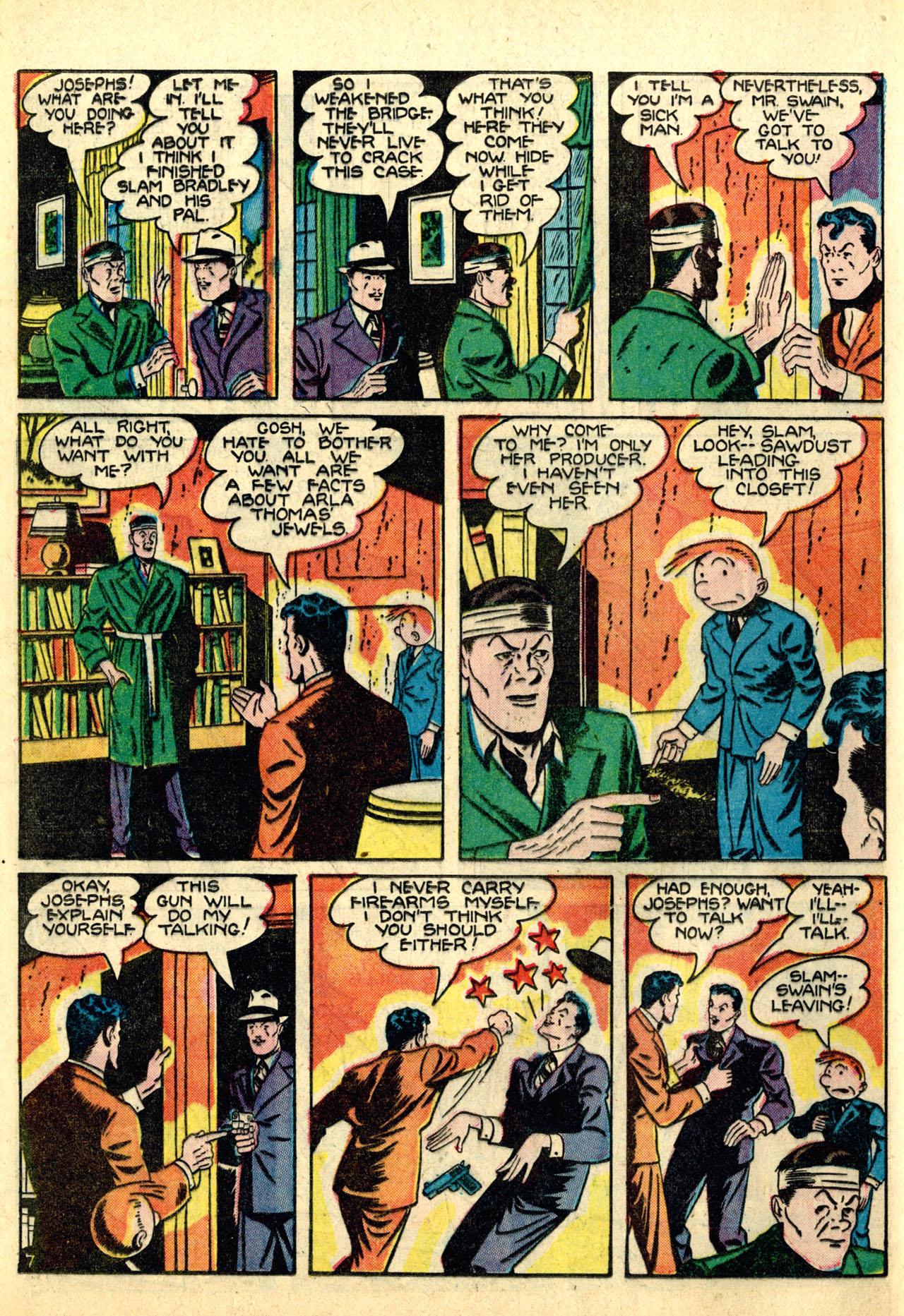 Read online Detective Comics (1937) comic -  Issue #50 - 64
