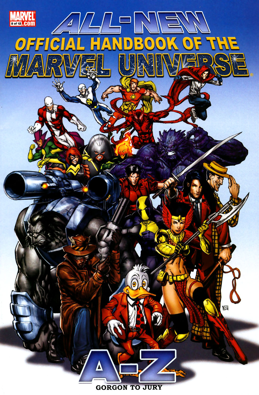 Read online All-New Official Handbook of the Marvel Universe A to Z comic -  Issue #5 - 1
