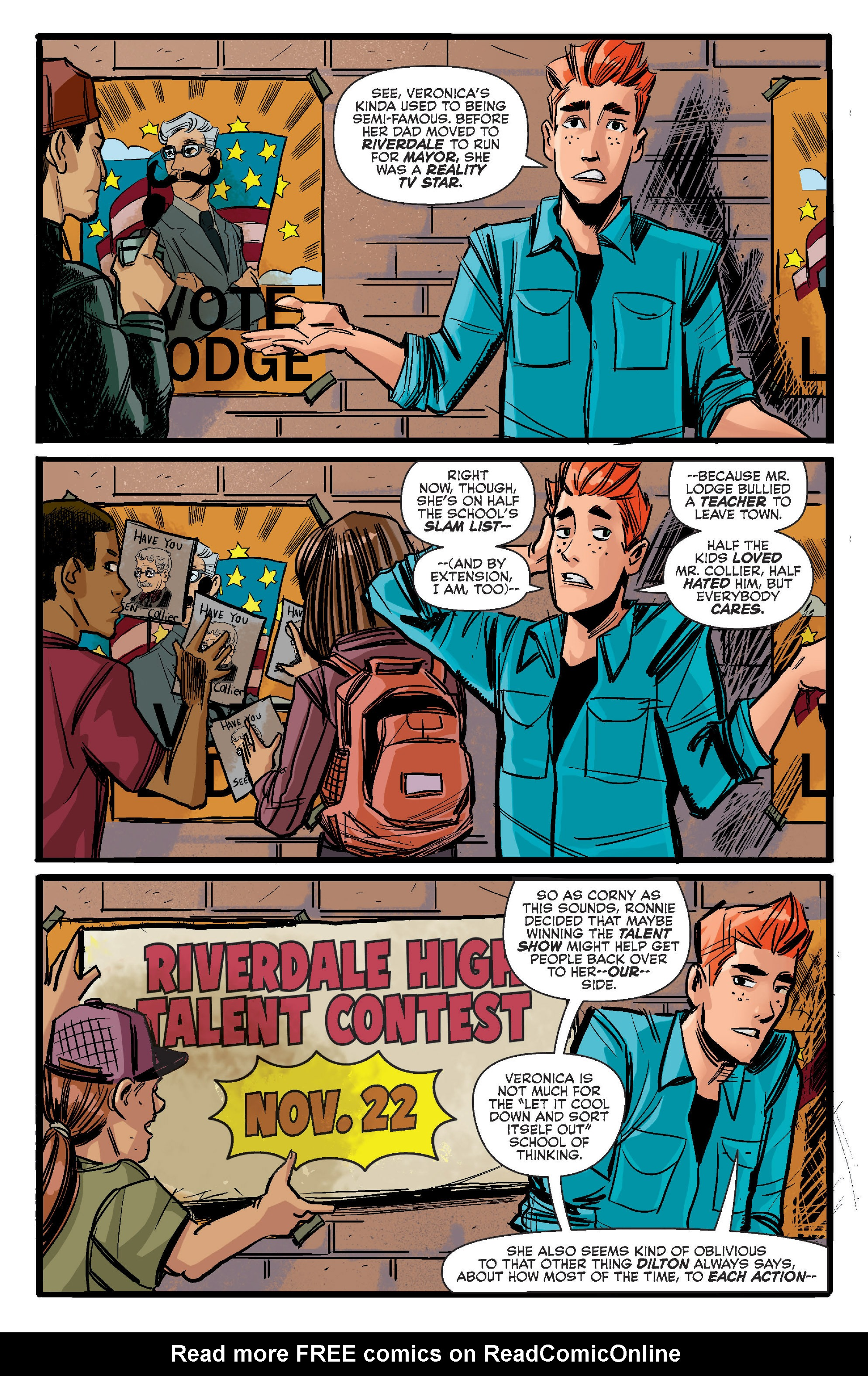 Read online Archie (2015) comic -  Issue #11 - 4