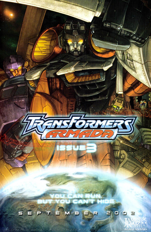 Read online Transformers Armada comic -  Issue #2 - 25