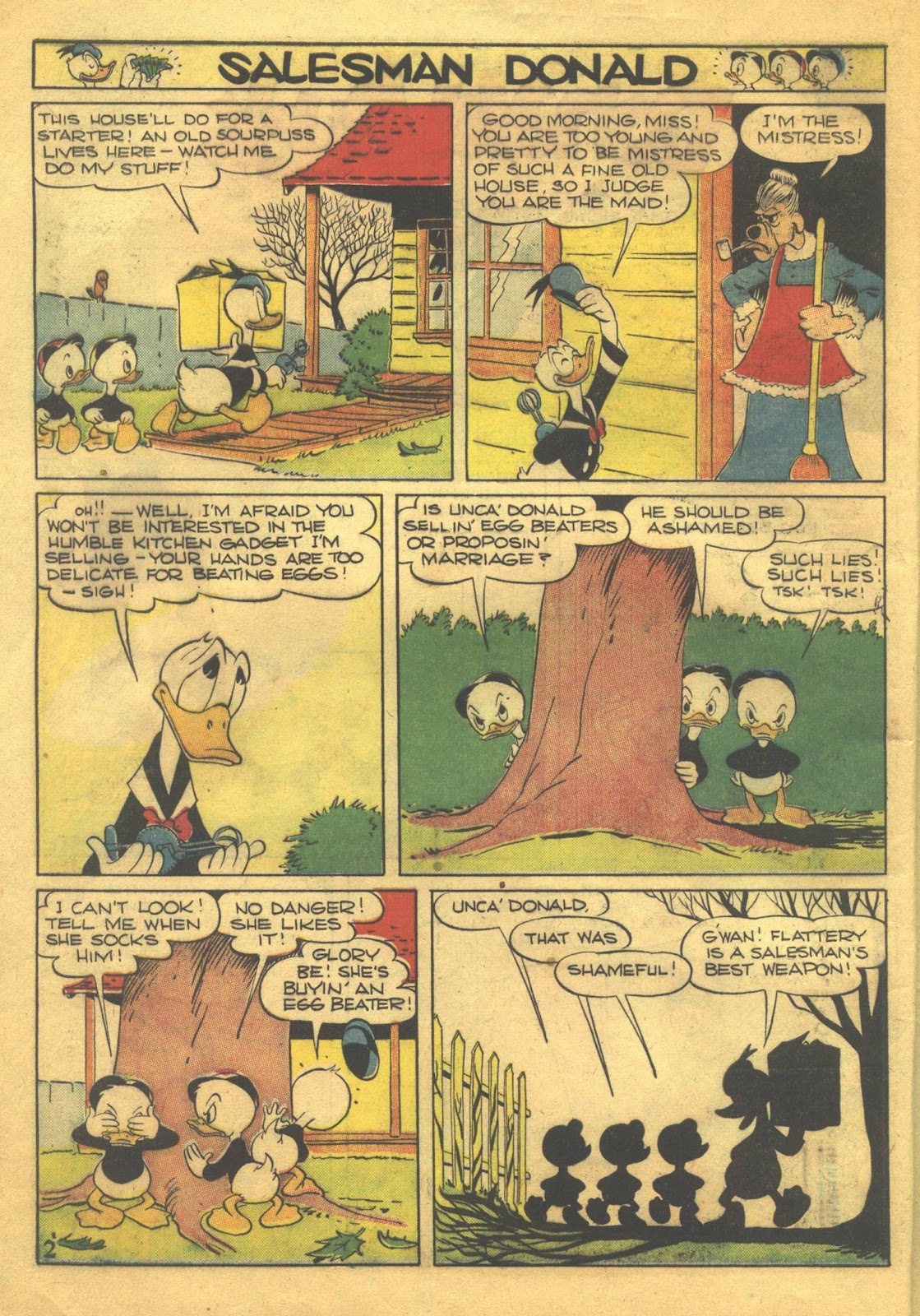 Walt Disney's Comics and Stories issue 39 - Page 4
