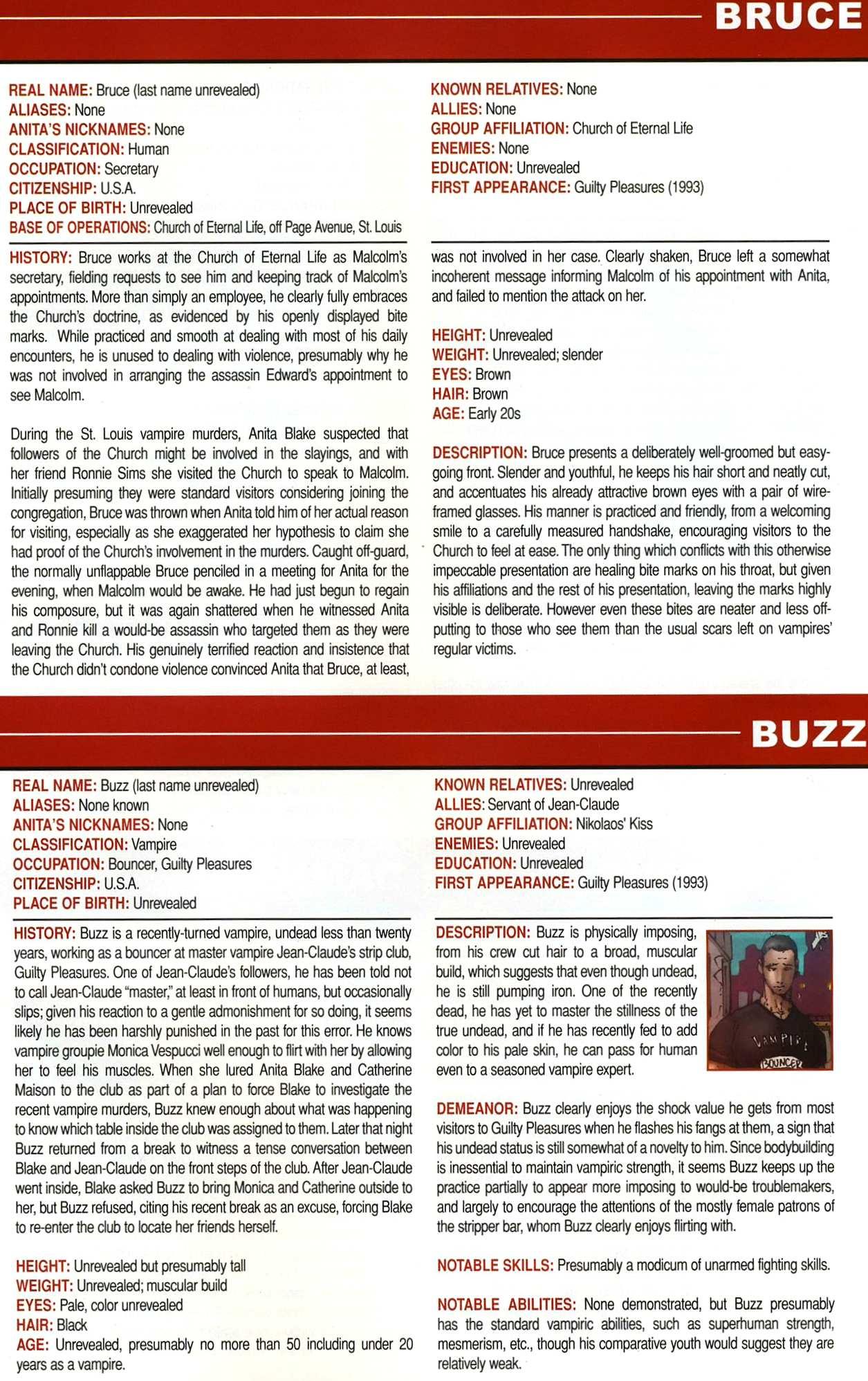 Read online Anita Blake, Vampire Hunter: Guilty Pleasures Handbook comic -  Issue #Anita Blake, Vampire Hunter: Guilty Pleasures Handbook Full - 39