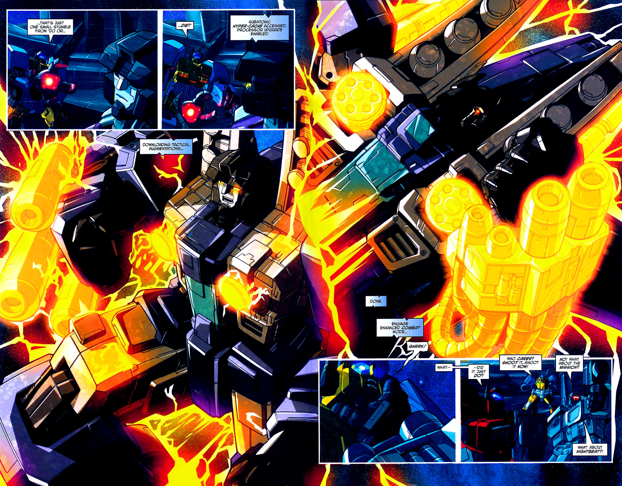 """Read online Transformers War Within: """"The Age of Wrath"""" comic -  Issue #3 - 7"""