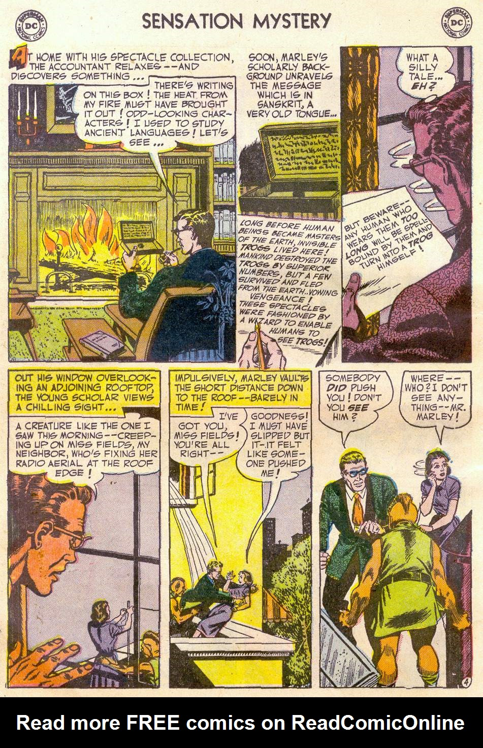 Read online Sensation (Mystery) Comics comic -  Issue #110 - 16