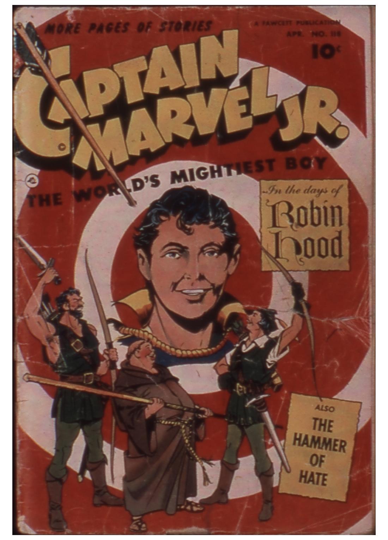 Captain Marvel, Jr. 118 Page 1