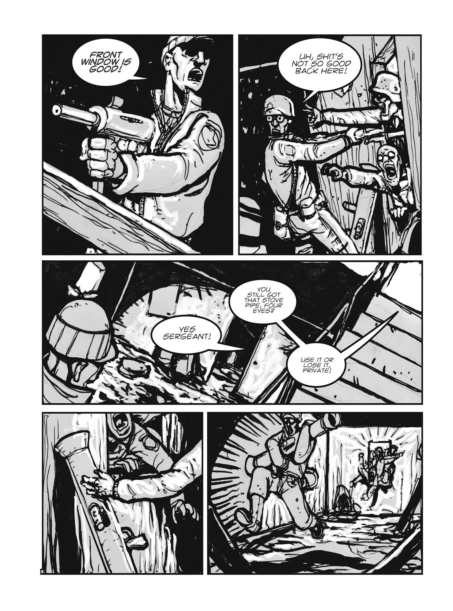 Read online FUBAR comic -  Issue #1 - 136