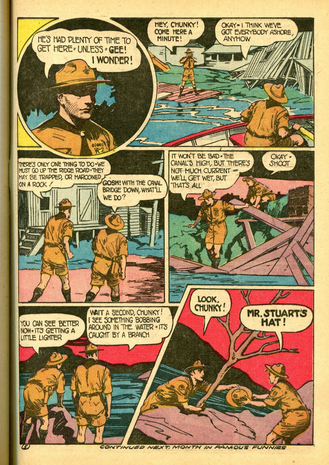 Read online Famous Funnies comic -  Issue #108 - 55