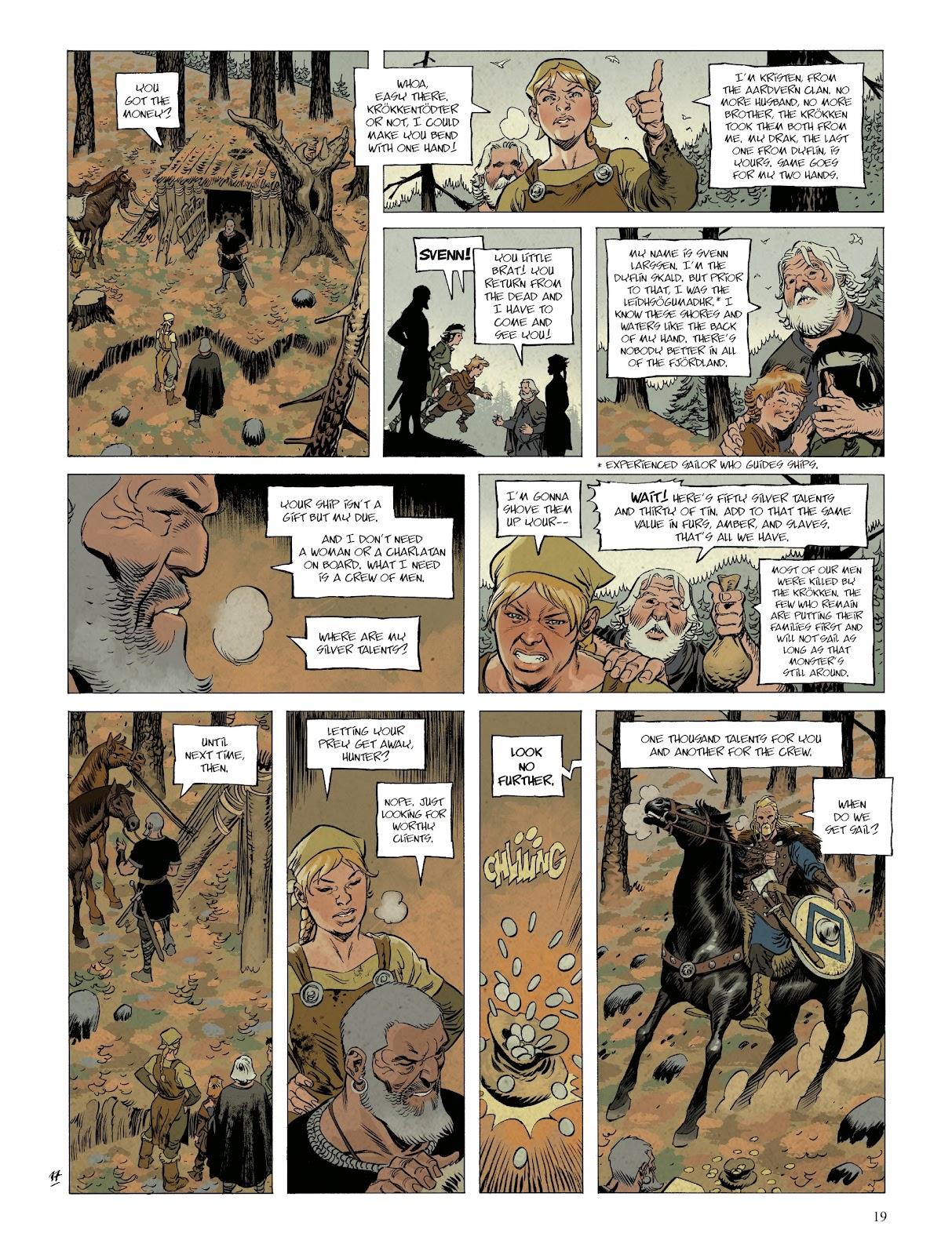Read online Asgard comic -  Issue #1 - 21