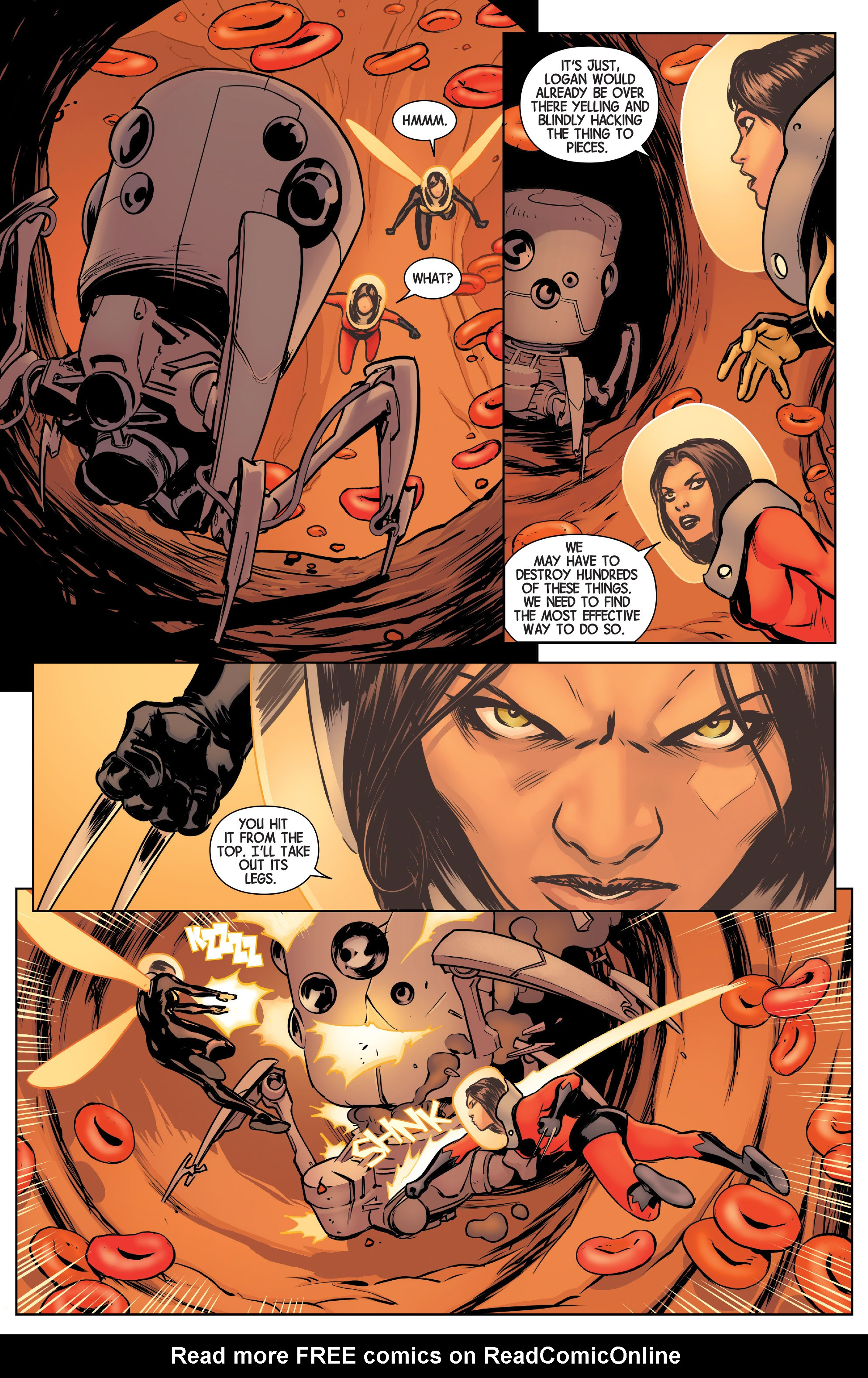 Read online All-New Wolverine (2016) comic -  Issue #5 - 9