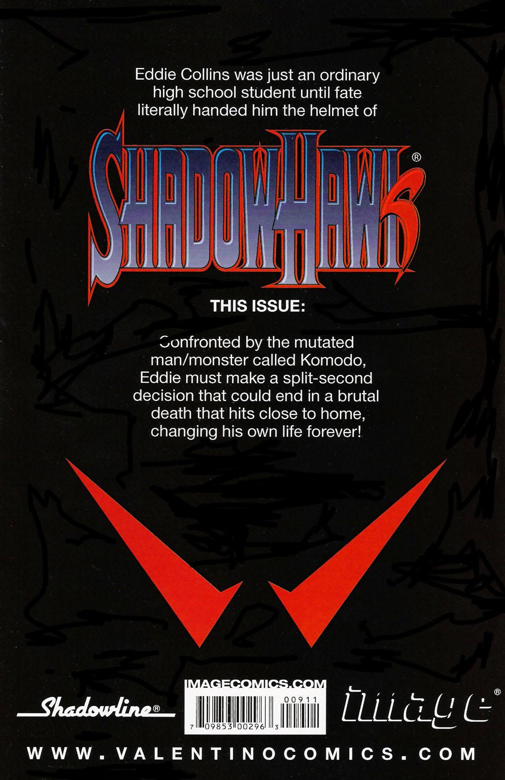 Read online ShadowHawk (2005) comic -  Issue #9 - 28