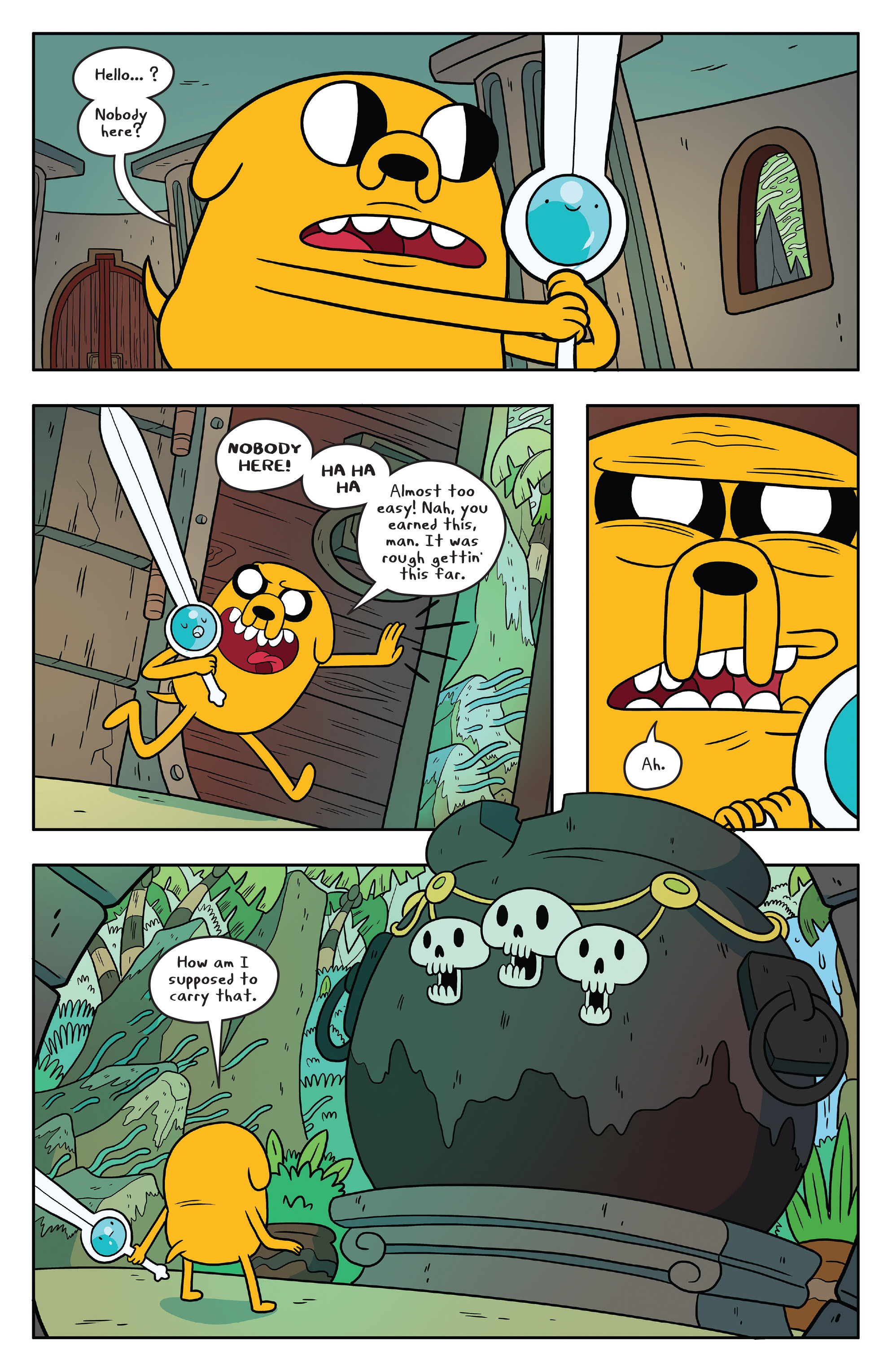 Read online Adventure Time comic -  Issue #53 - 12