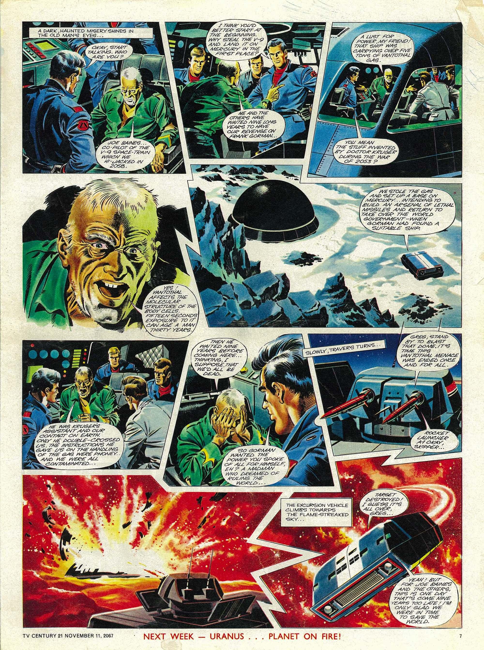 Read online TV Century 21 (TV 21) comic -  Issue #147 - 7