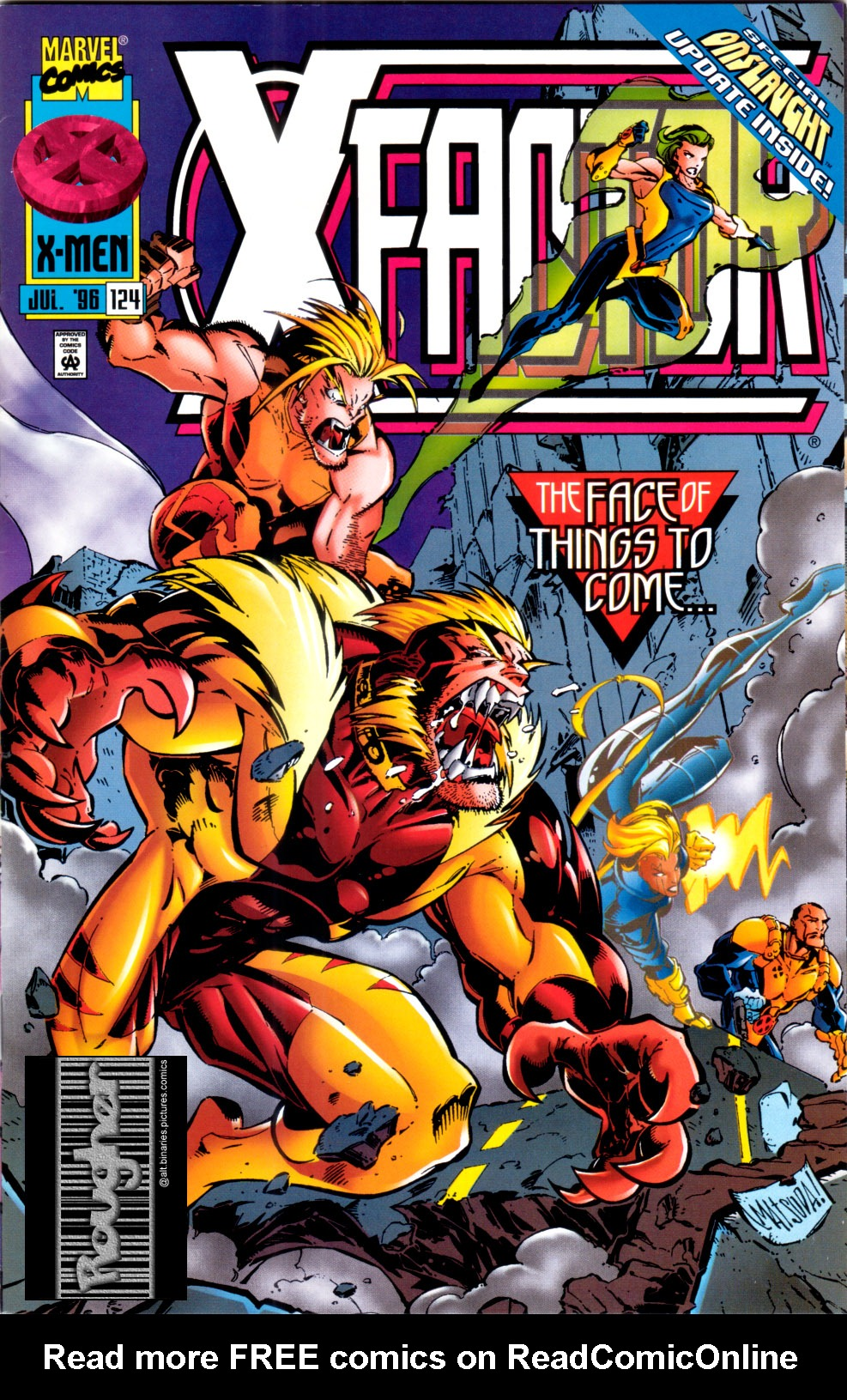 Read online X-Factor (1986) comic -  Issue #124 - 1