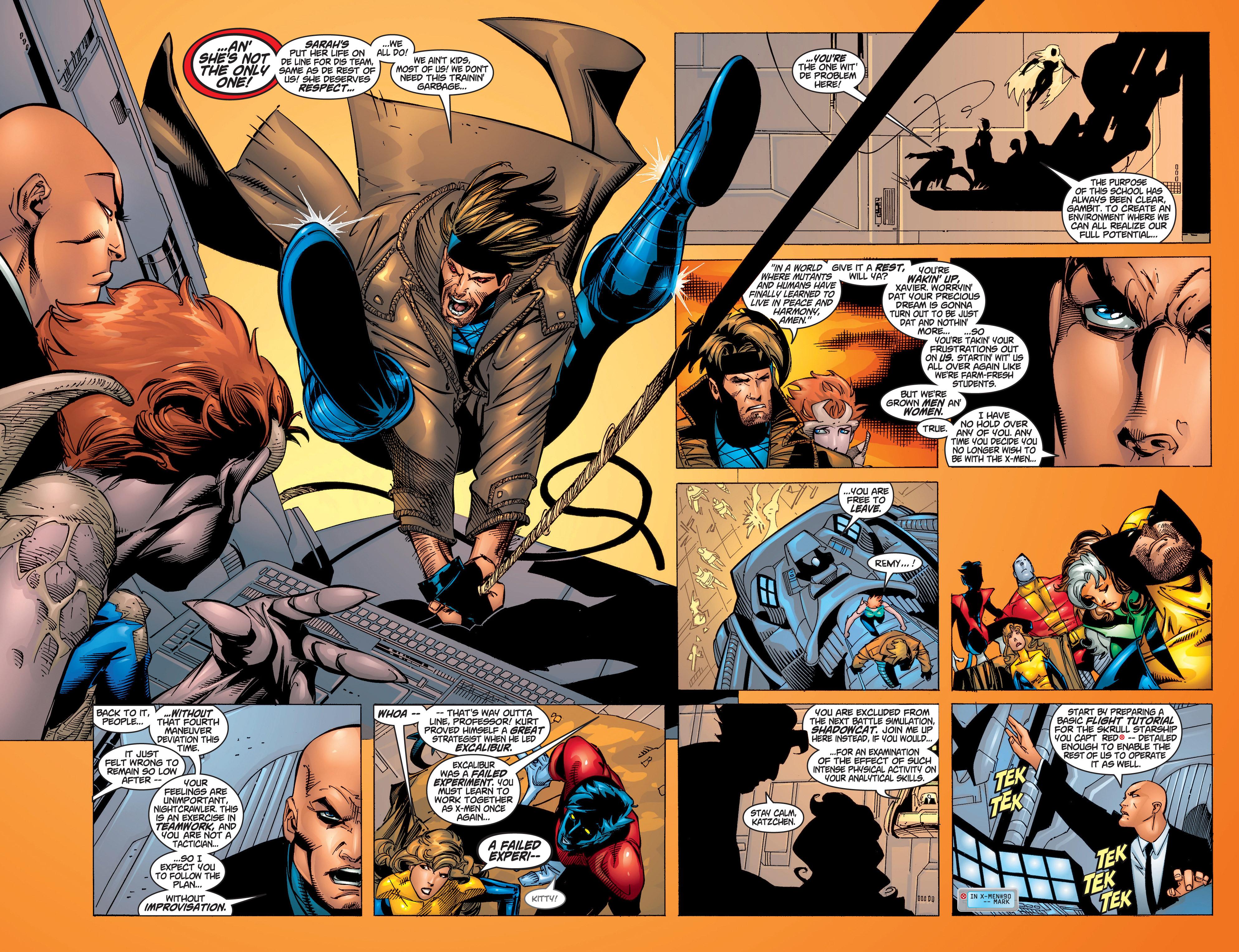 Read online Uncanny X-Men (1963) comic -  Issue #372 - 12