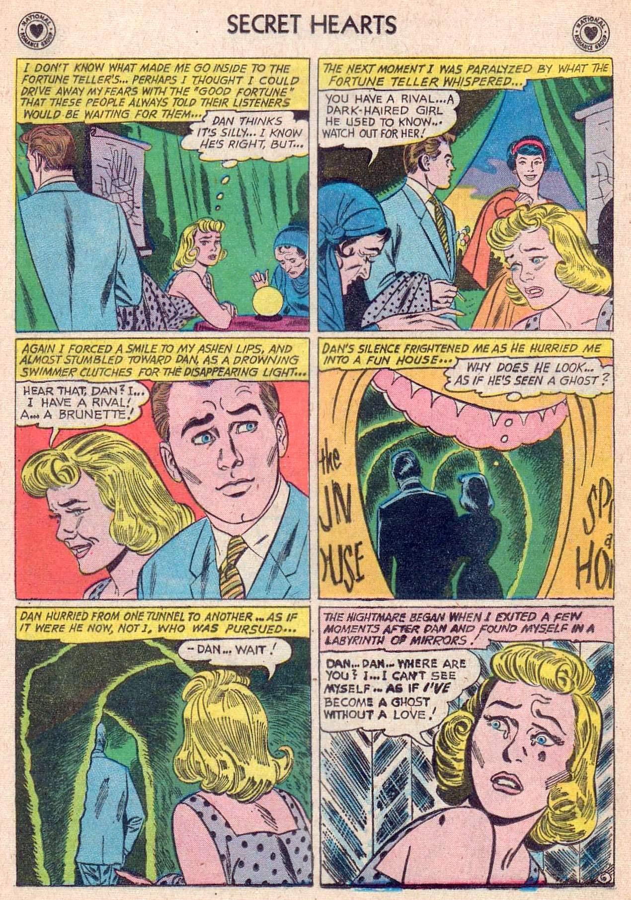 Read online Secret Hearts comic -  Issue #67 - 32
