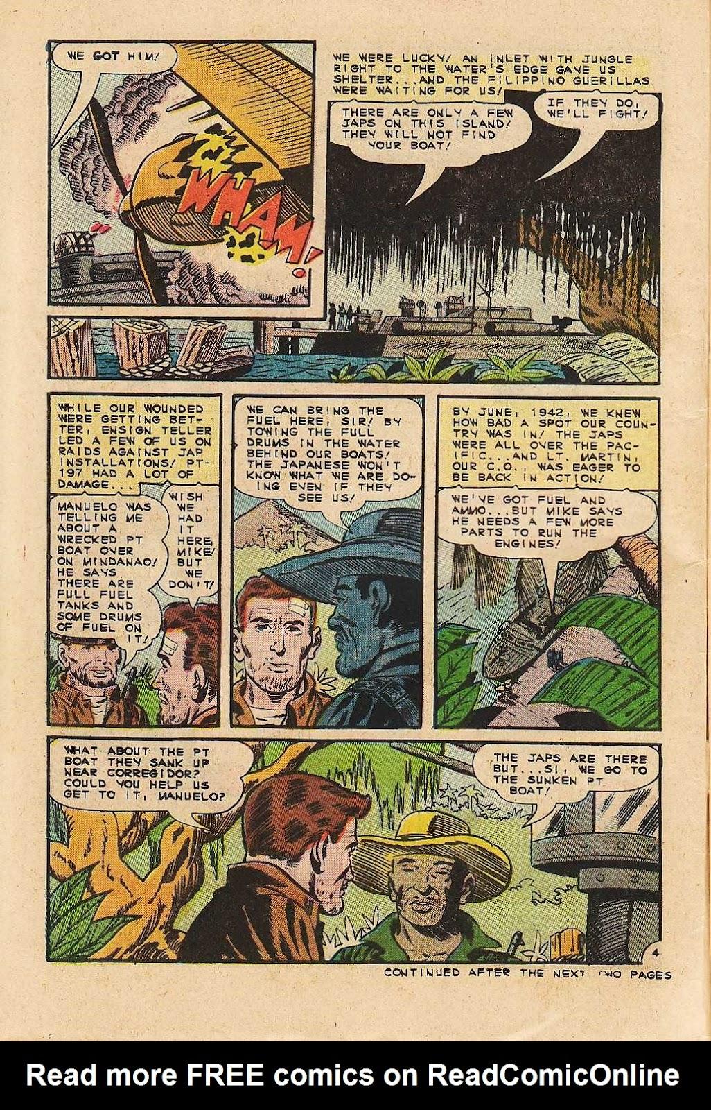 Read online Fightin' Navy comic -  Issue #121 - 6