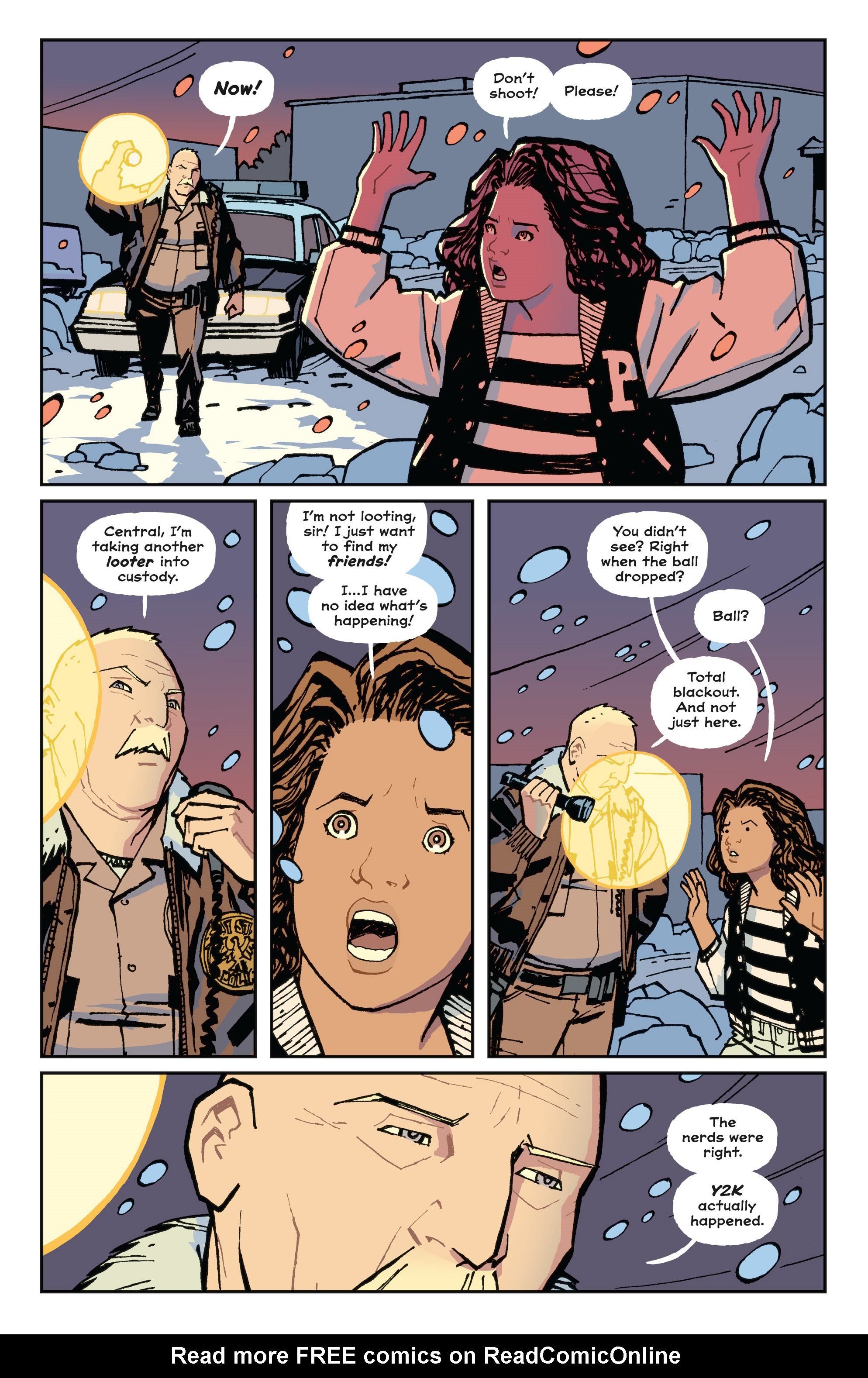 Read online Paper Girls comic -  Issue #15 - 27