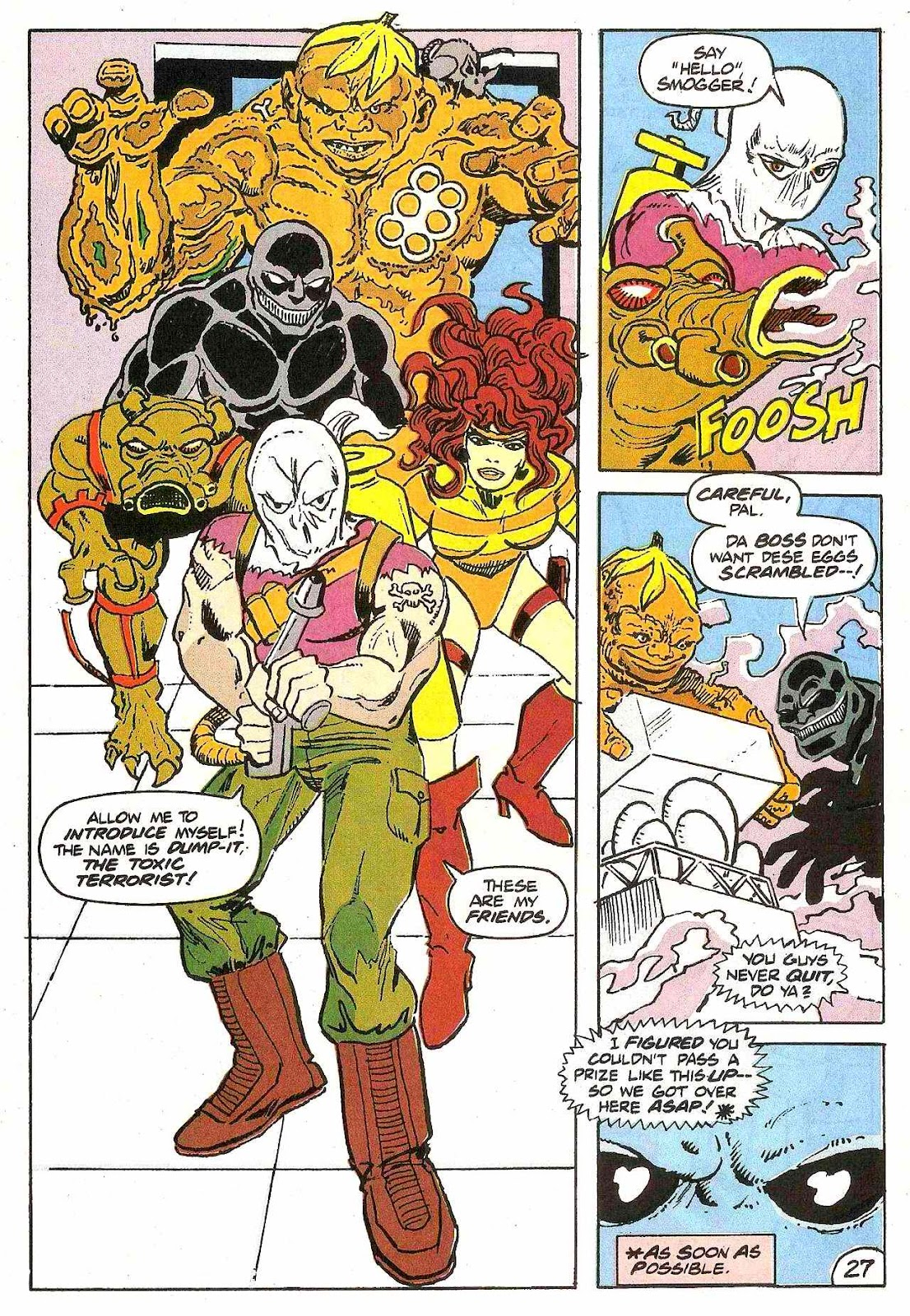 Read online Zen Intergalactic Ninja (1992) comic -  Issue #2 - 25