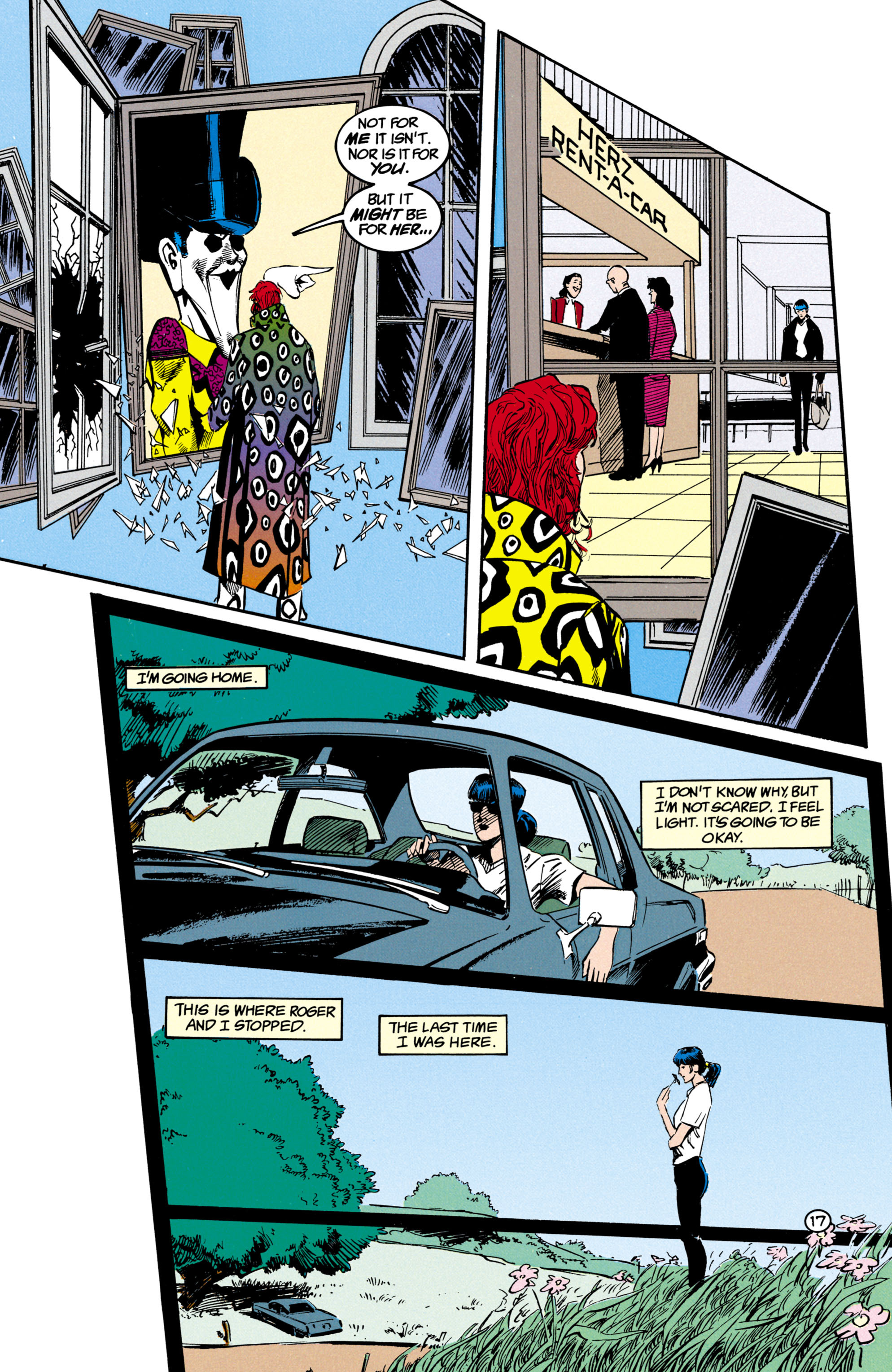 Read online Shade, the Changing Man comic -  Issue #17 - 18