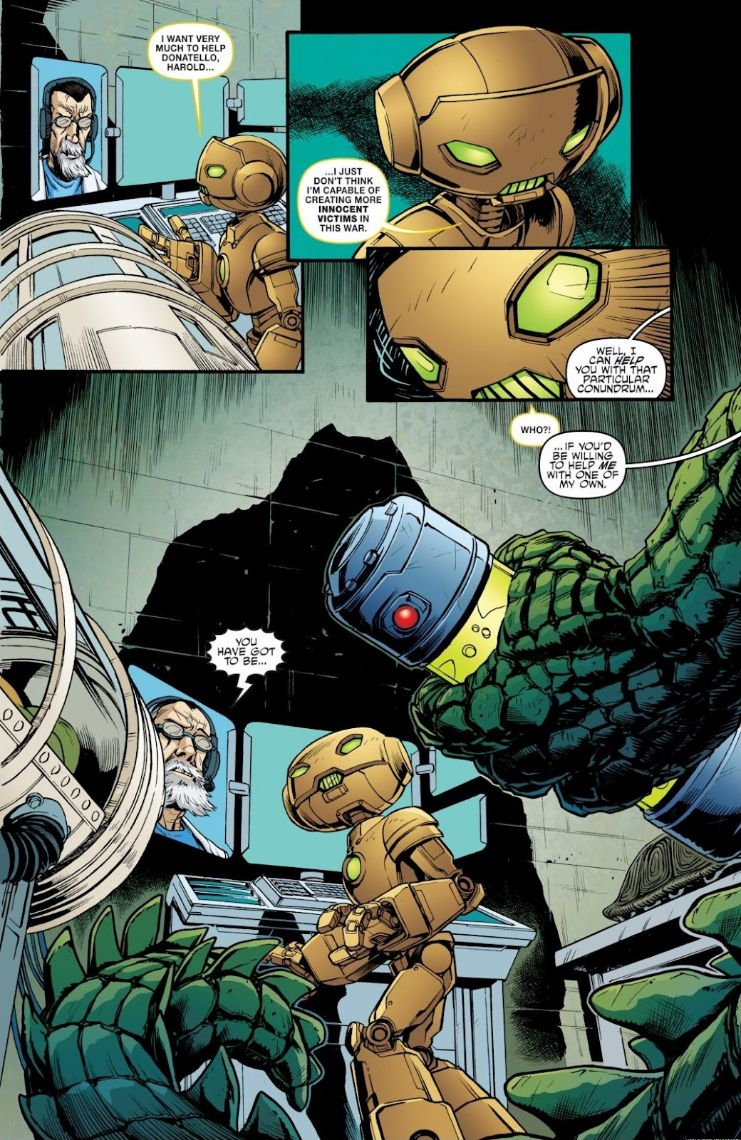 Read online Teenage Mutant Ninja Turtles: The IDW Collection comic -  Issue # TPB 6 (Part 3) - 22