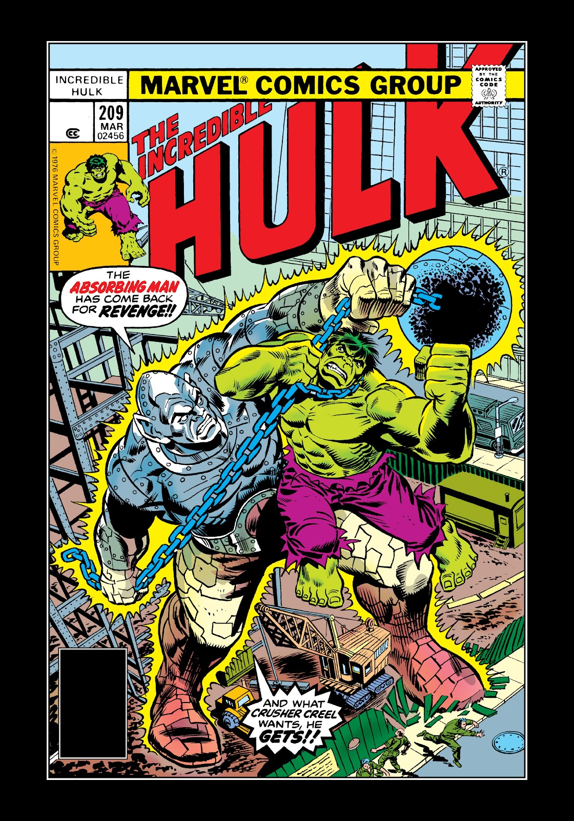 Read online Marvel Masterworks: The Incredible Hulk comic -  Issue # TPB 12 (Part 3) - 64