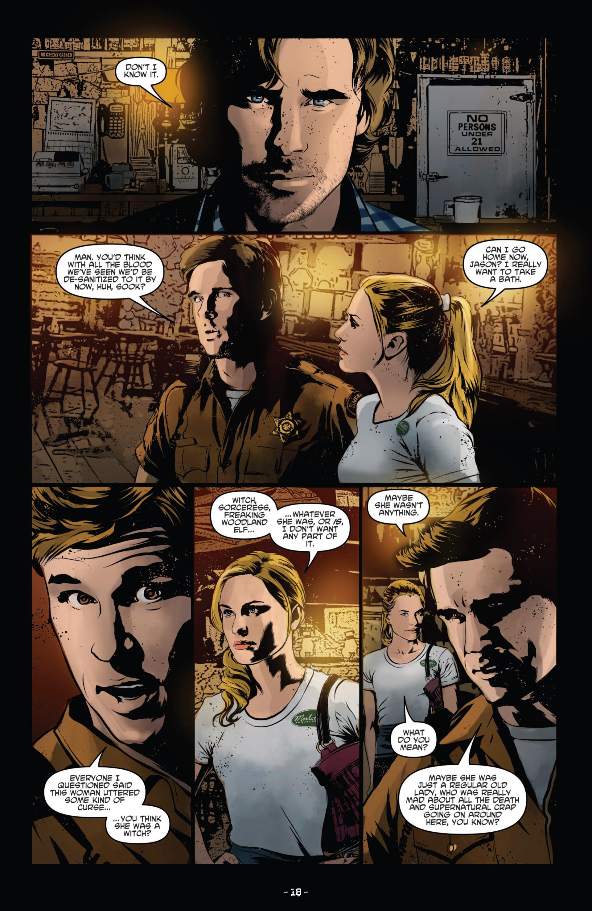 Read online True Blood (2012) comic -  Issue #11 - 21