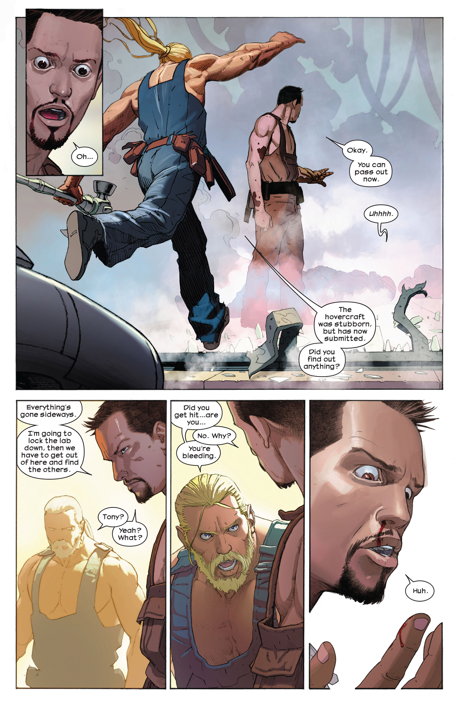 Read online Ultimate Comics Ultimates comic -  Issue #9 - 10