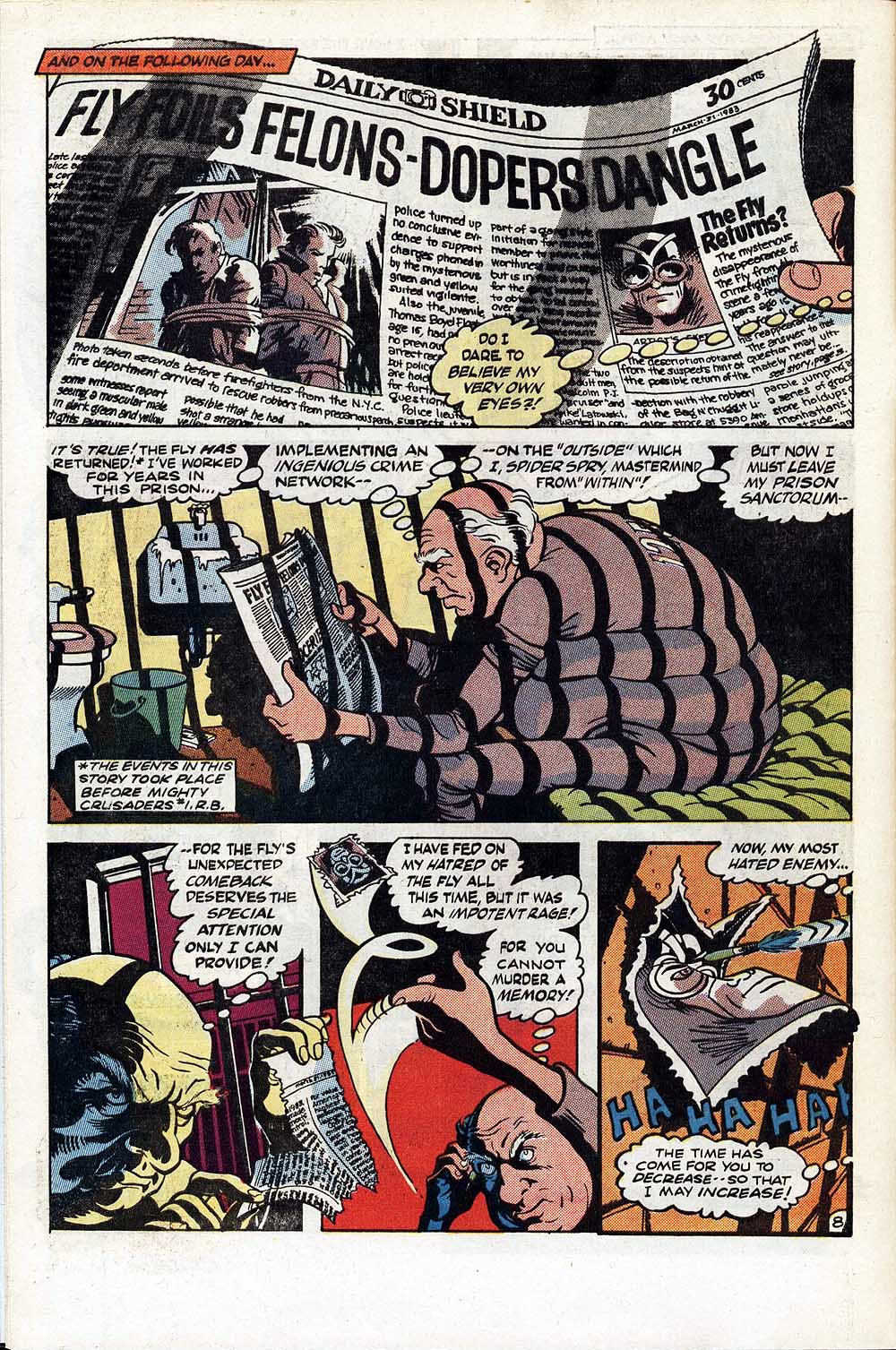 Read online The Fly (1983) comic -  Issue #1 - 9