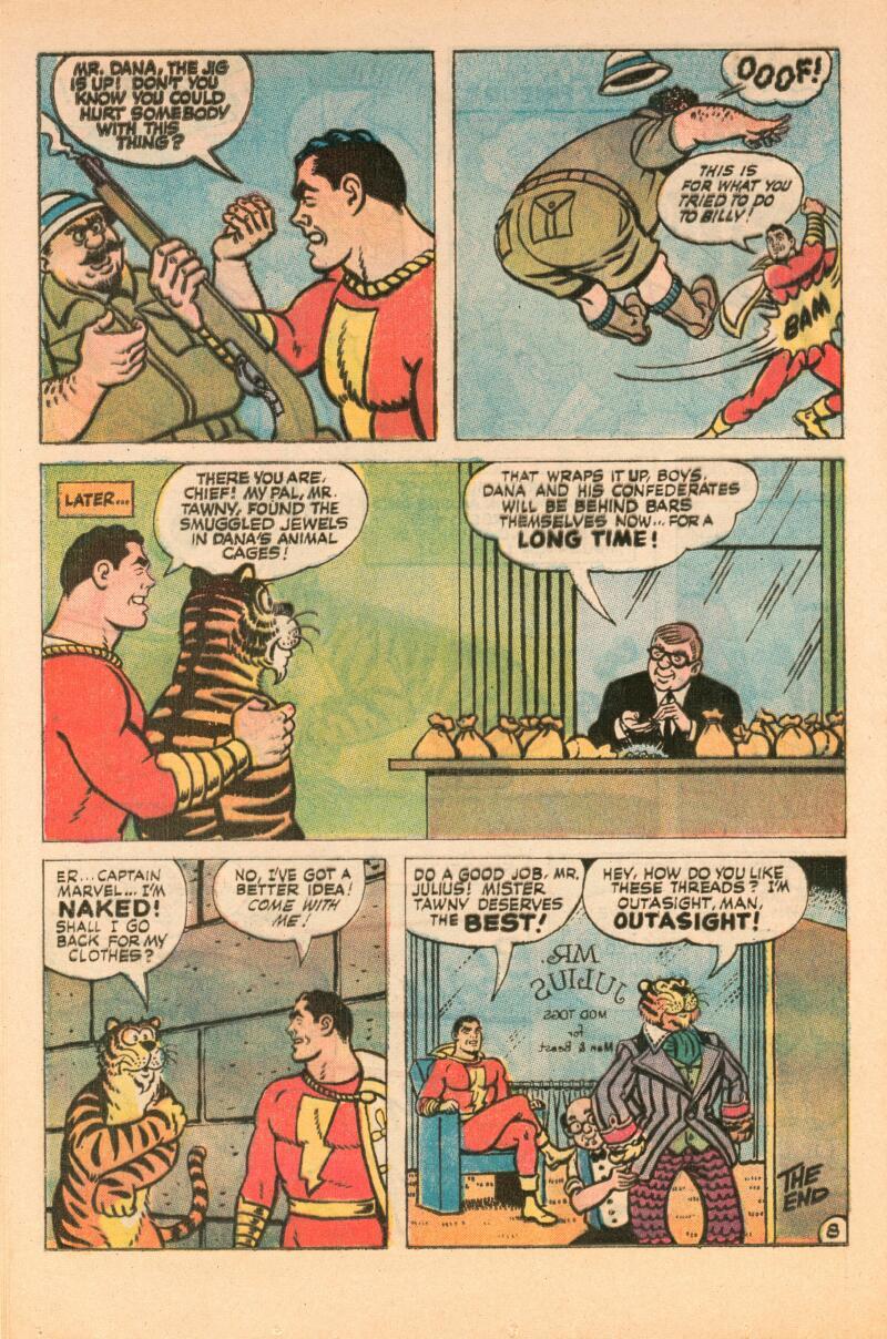 Read online Shazam! (1973) comic -  Issue #7 - 9